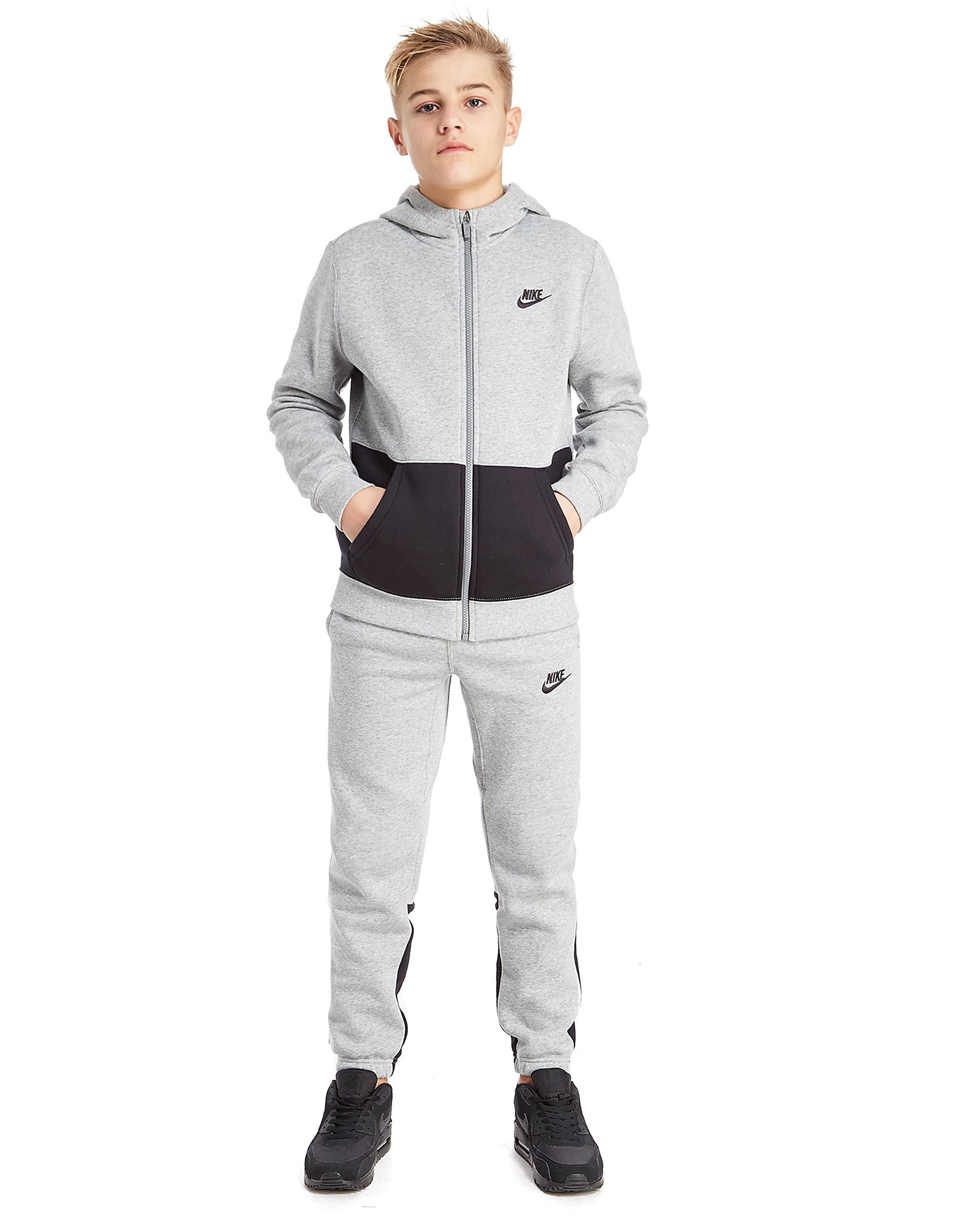 Nike Fleece Colour Block Suit Junior