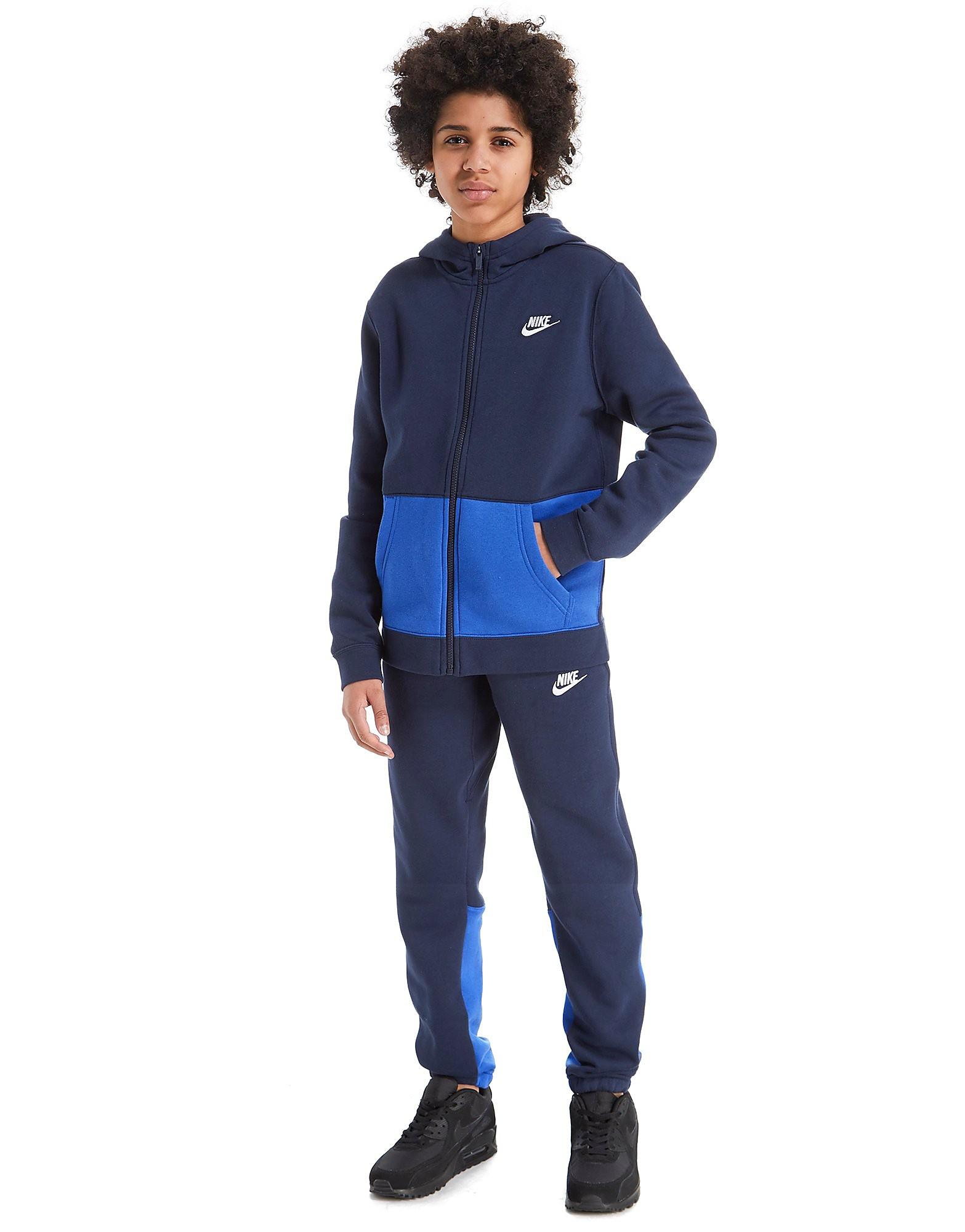 Nike Fleece Colour Block Suit Junior
