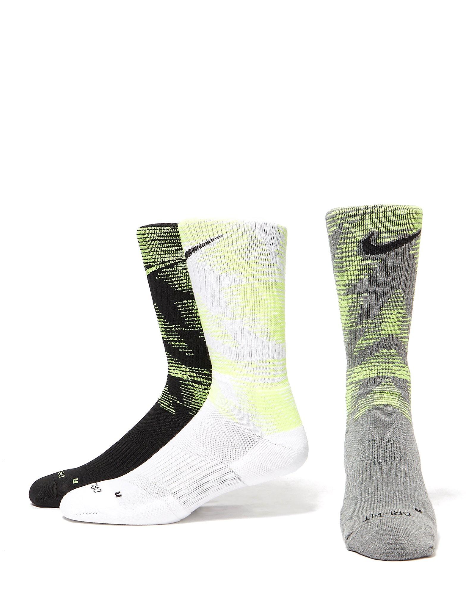 Nike Pack de 3 Chaussettes Dri-FIT Crew