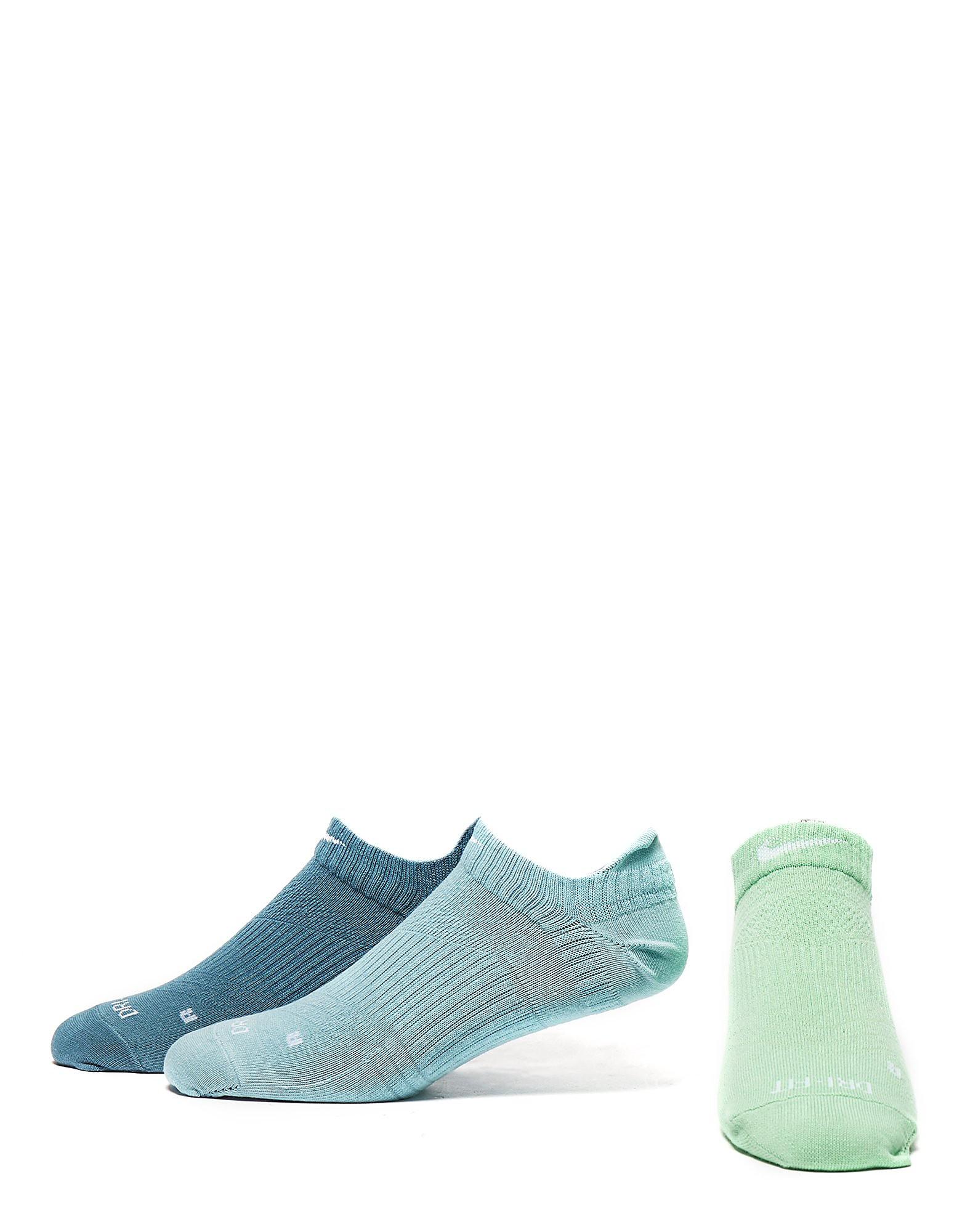 Nike 3 Pak Dri-FIT No-Show Sokken Dames