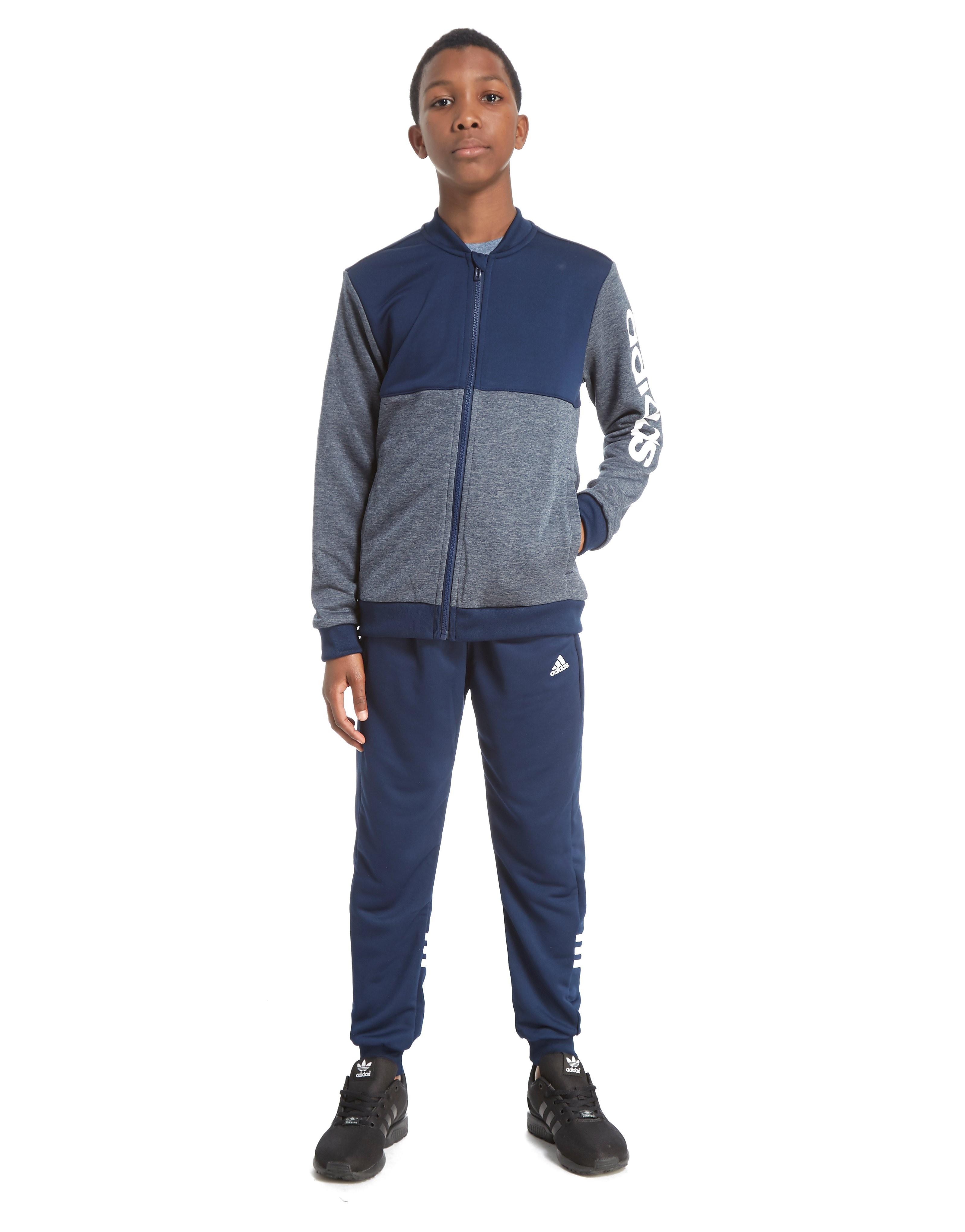 adidas Marl Tracksuit Junior
