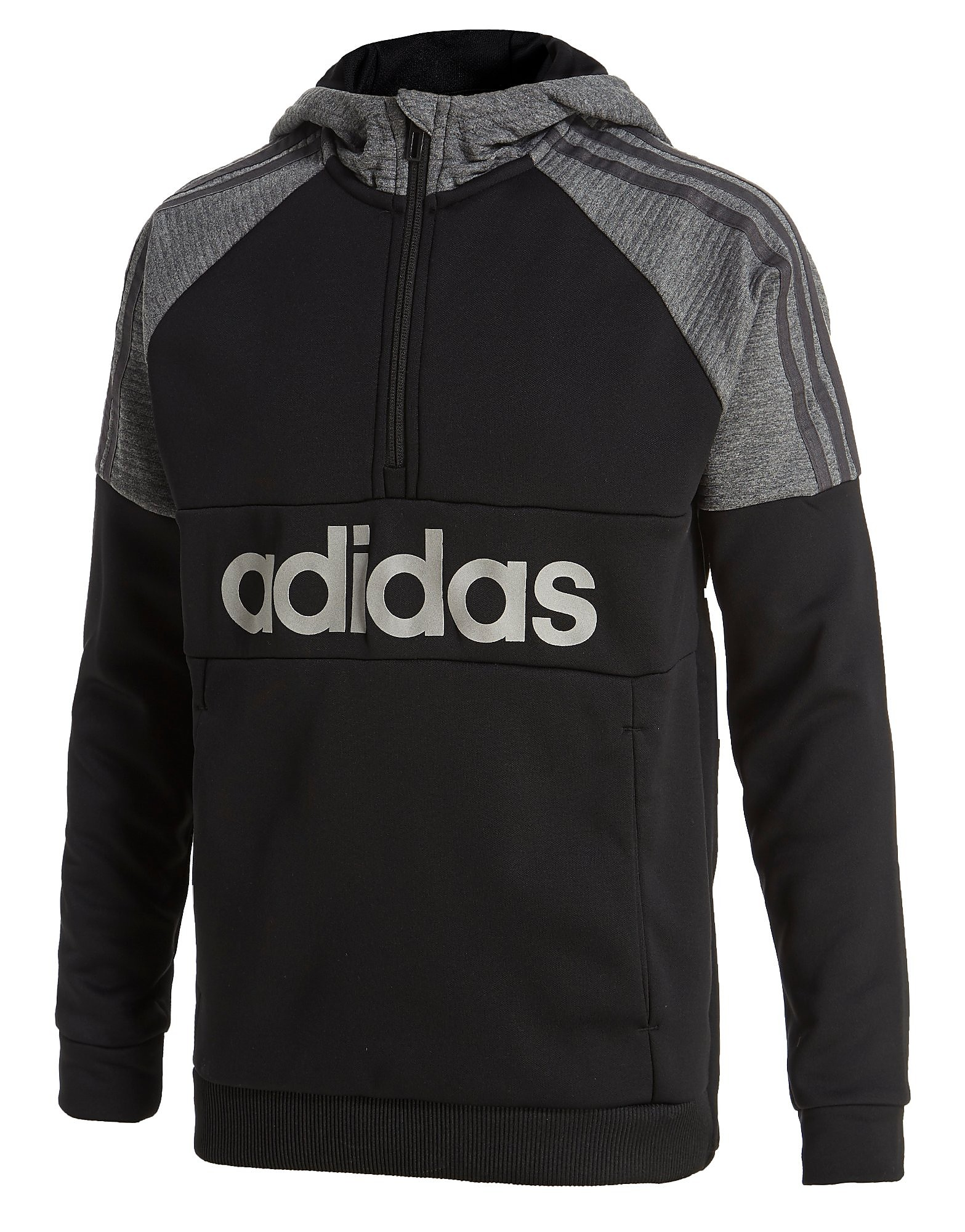 adidas Reflective Half Zip Hoody Junior