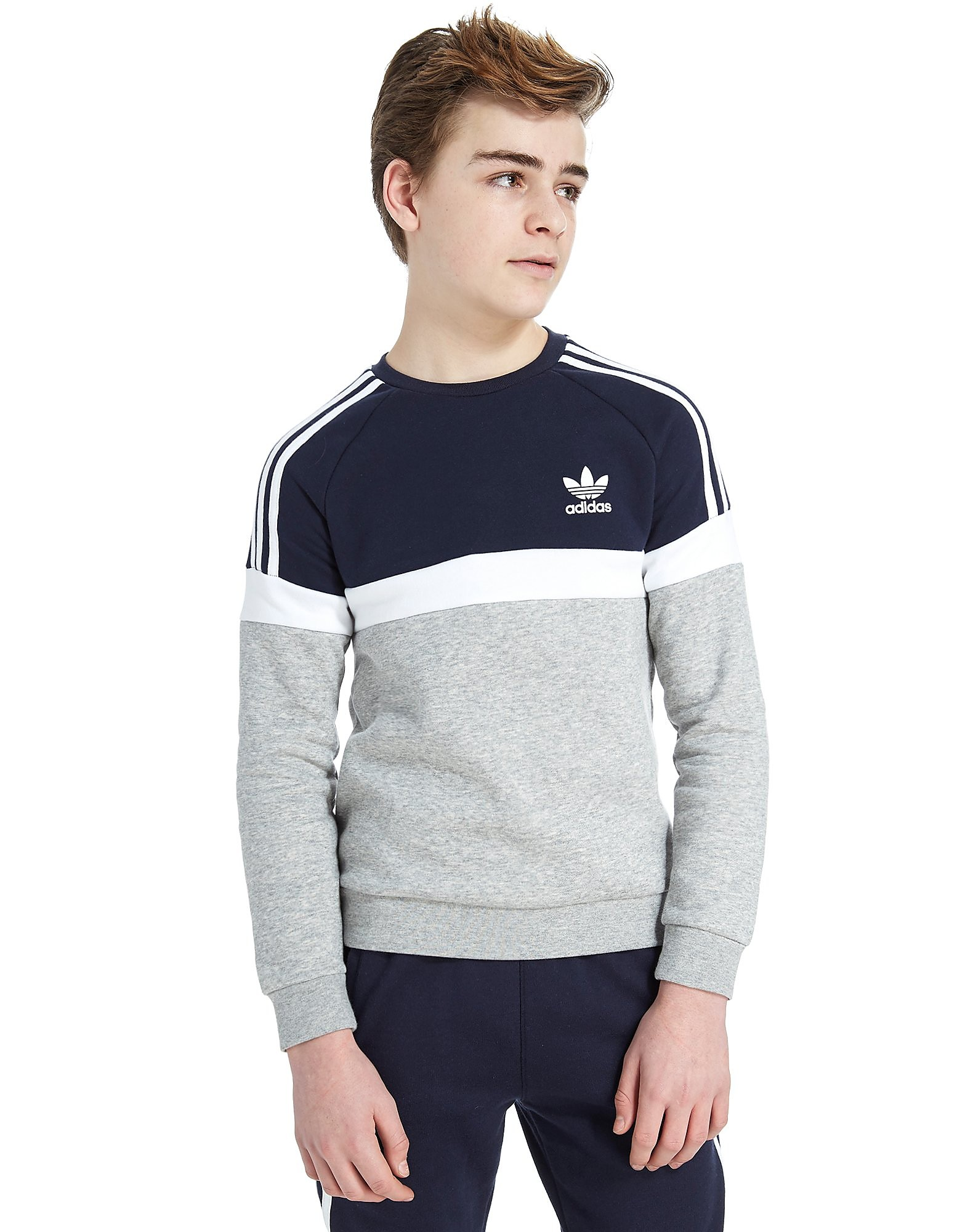 adidas Originals Itasca Crew Sweatshirt Junior