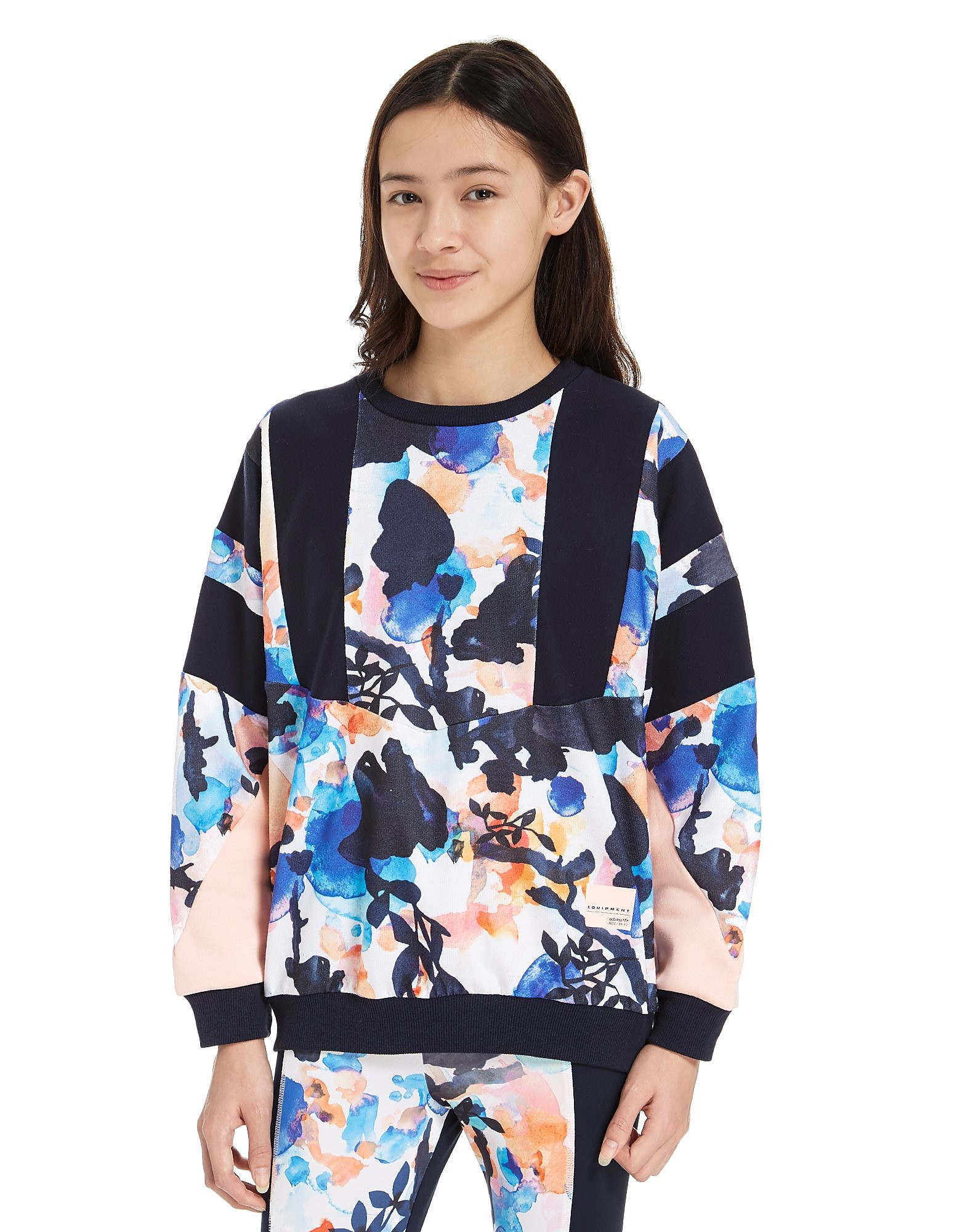 adidas Originals Girls' EQT Sweatshirt Junior