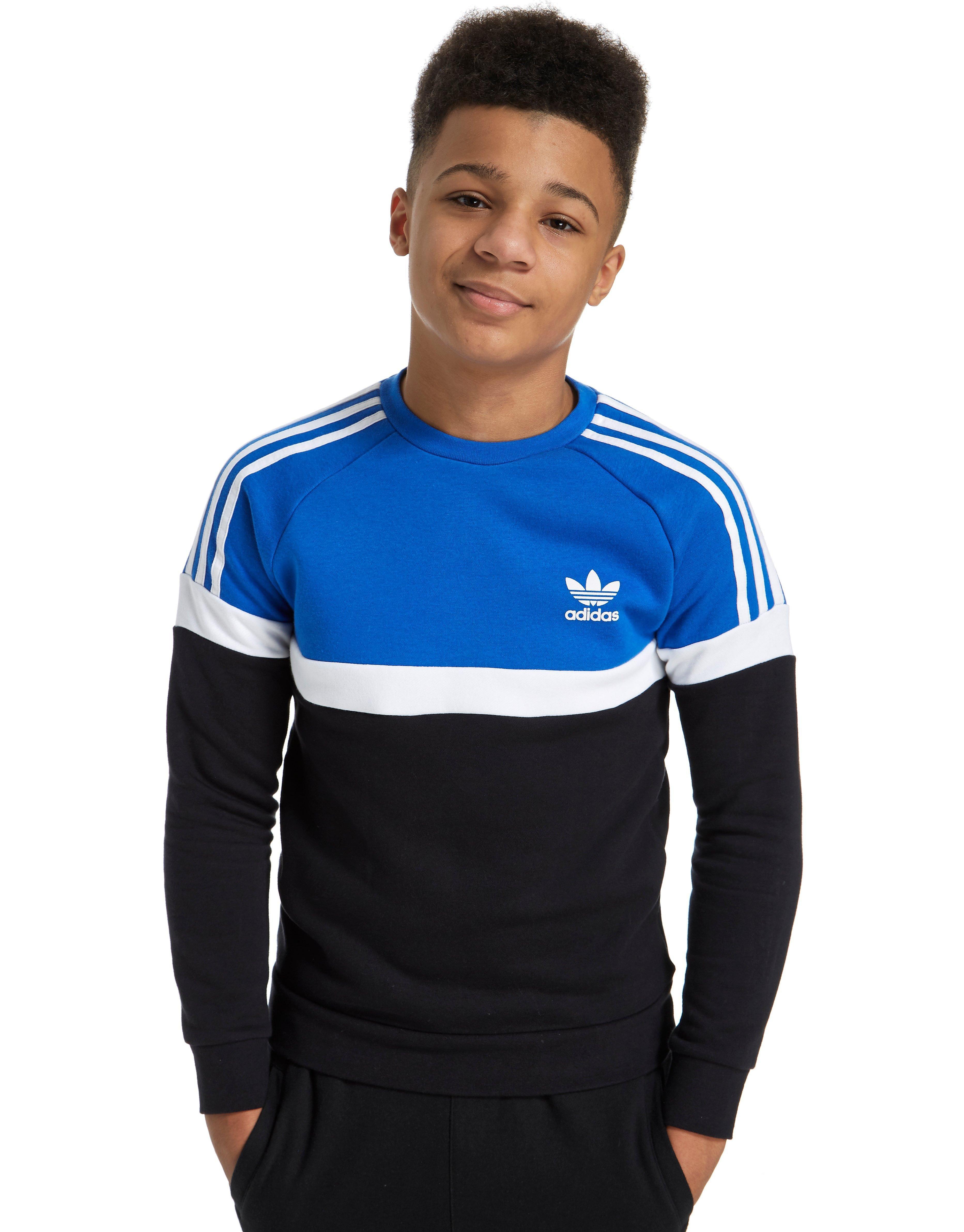 adidas Originals Itasca Crew Sweatshirt Junior
