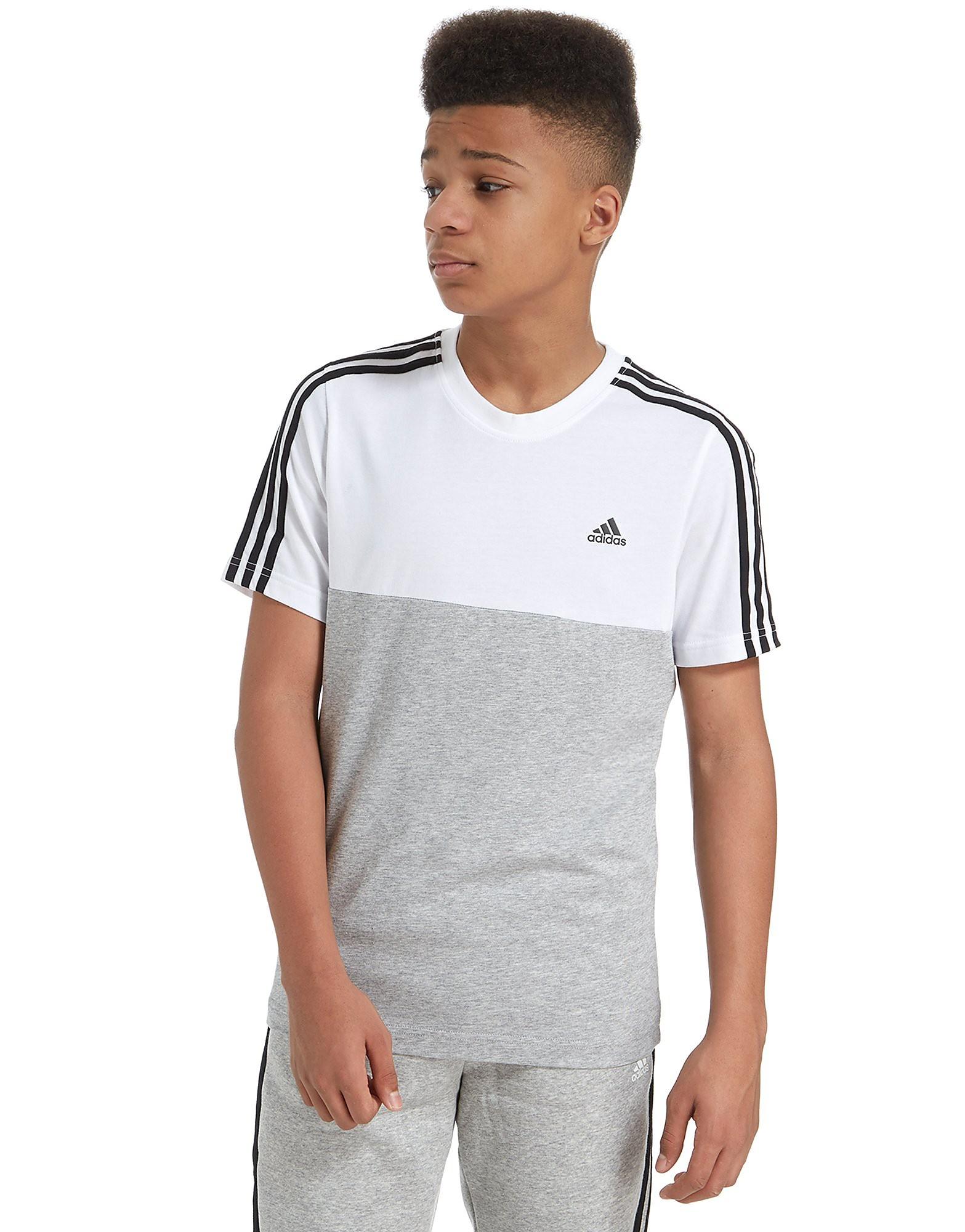 adidas Linear Colour Block T-Shirt Junior