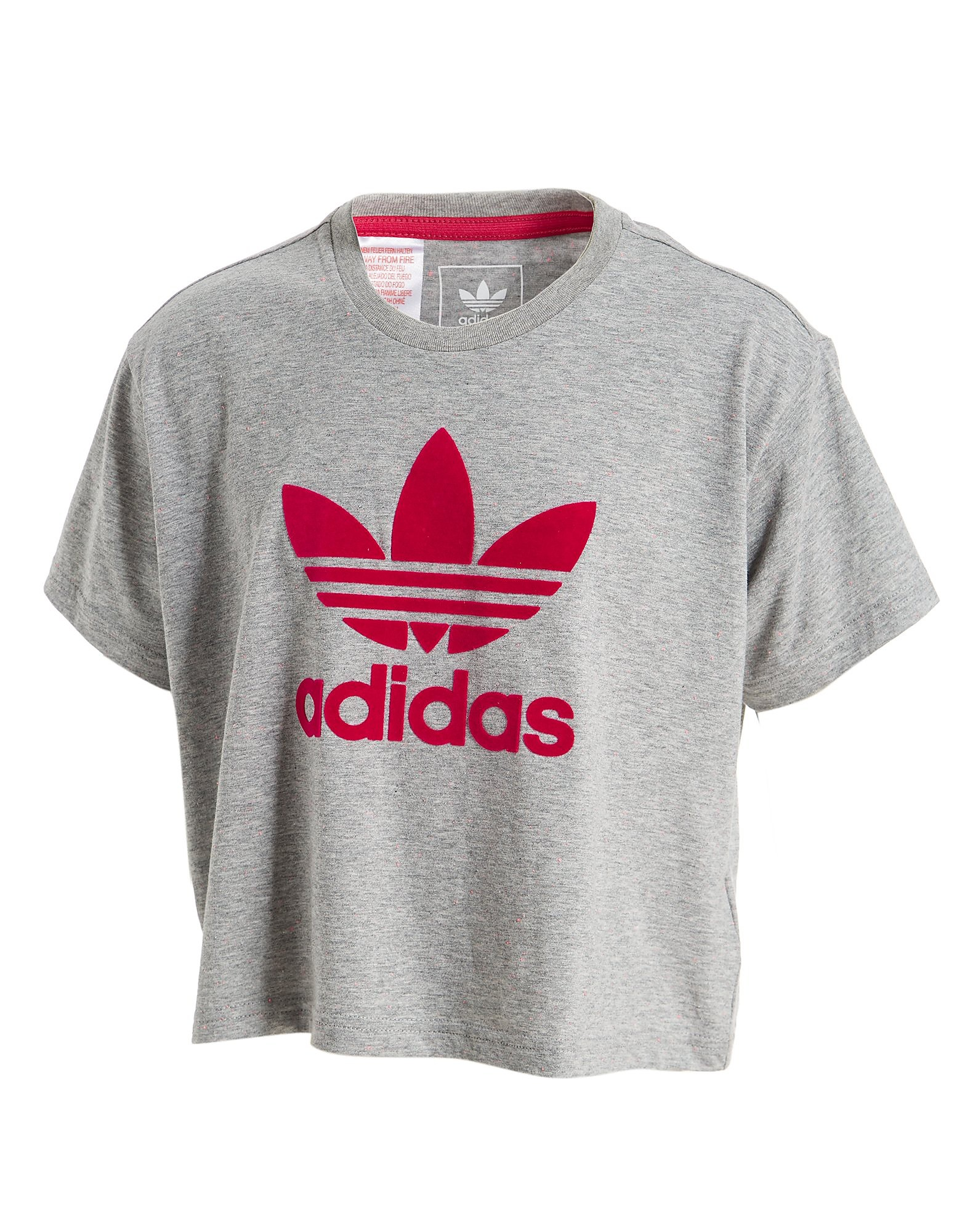 adidas Originals Girls' Crop T-Shirt Junior