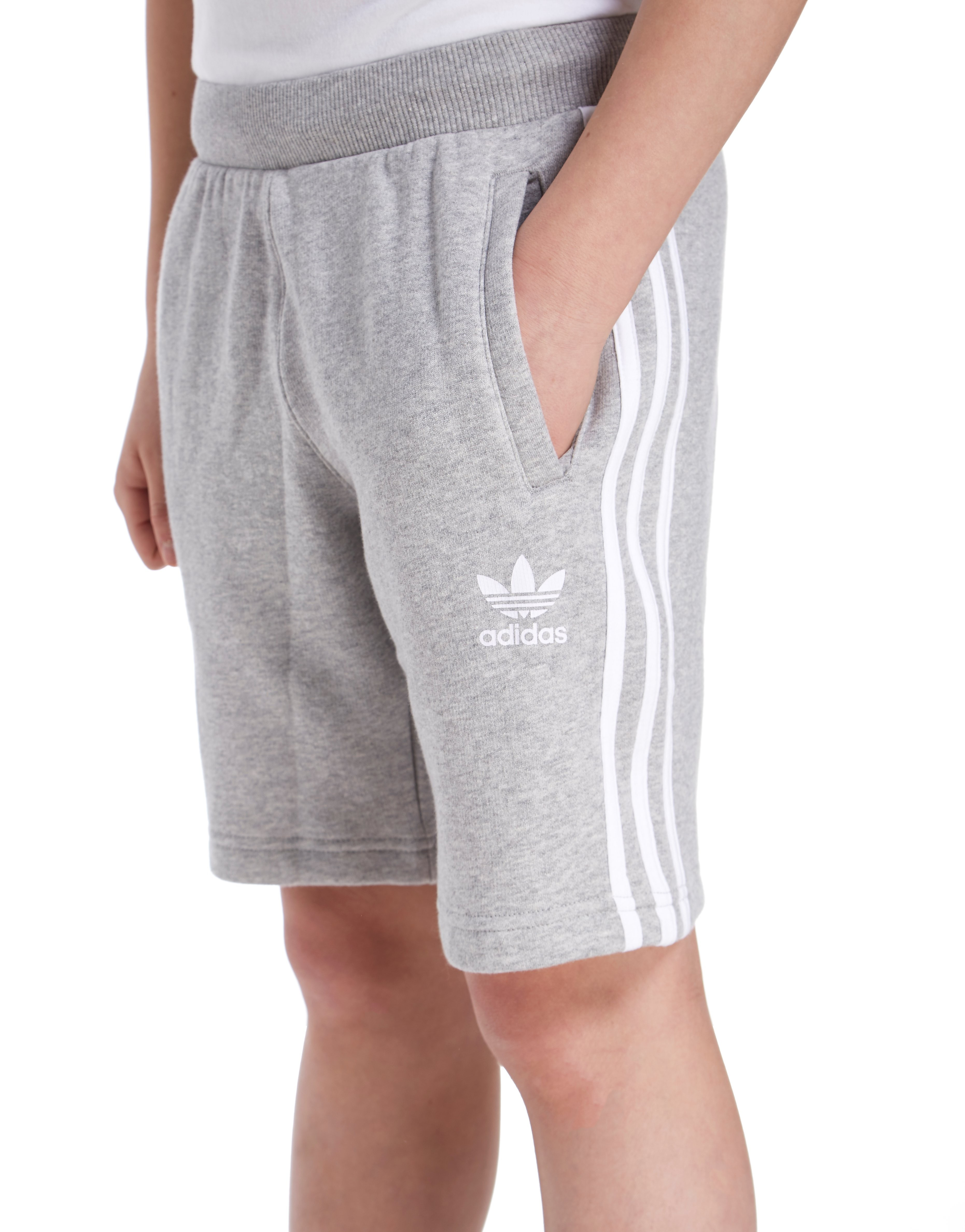 adidas Originals Trefoil Fleece Shorts Junior