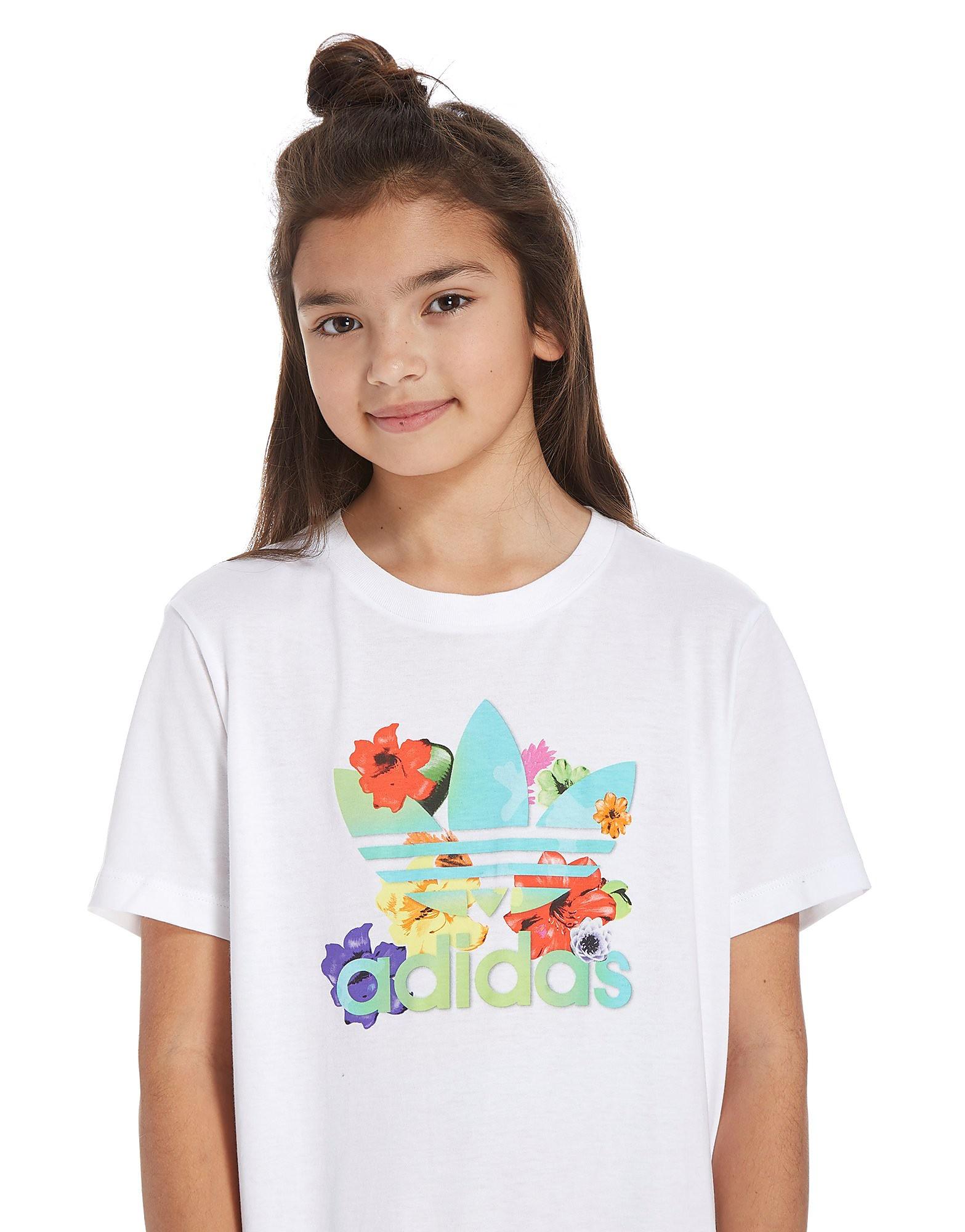 adidas Originals Girls' Infil Boyfriend T-Shirt Junior