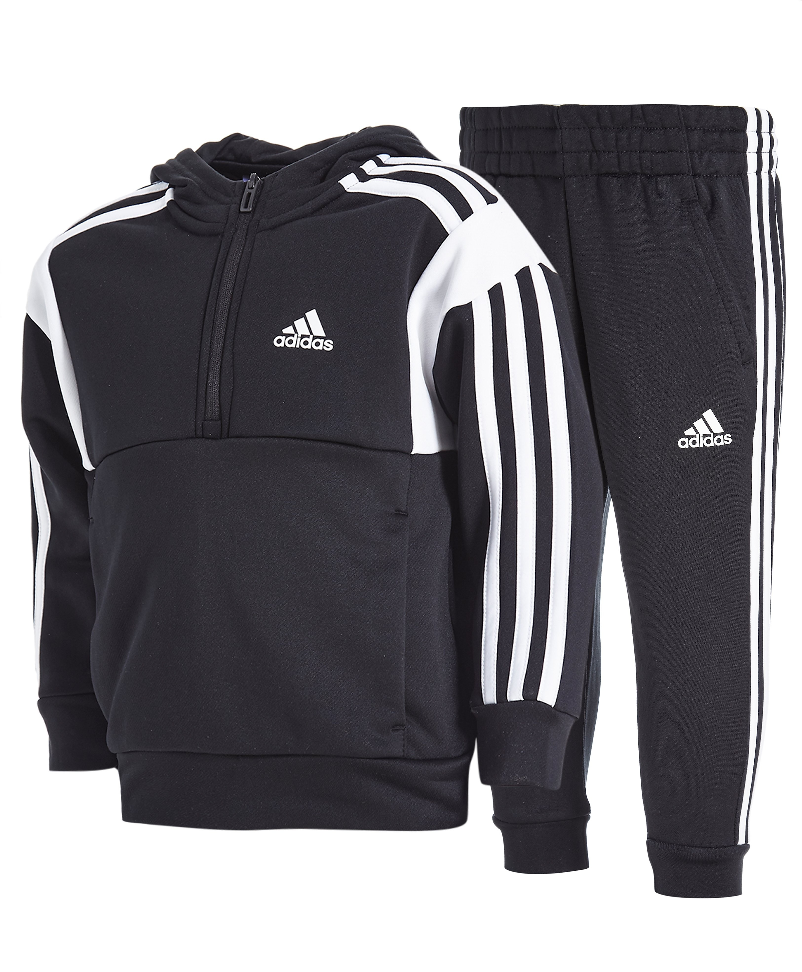 adidas Football 1/2 Zip Suit Children