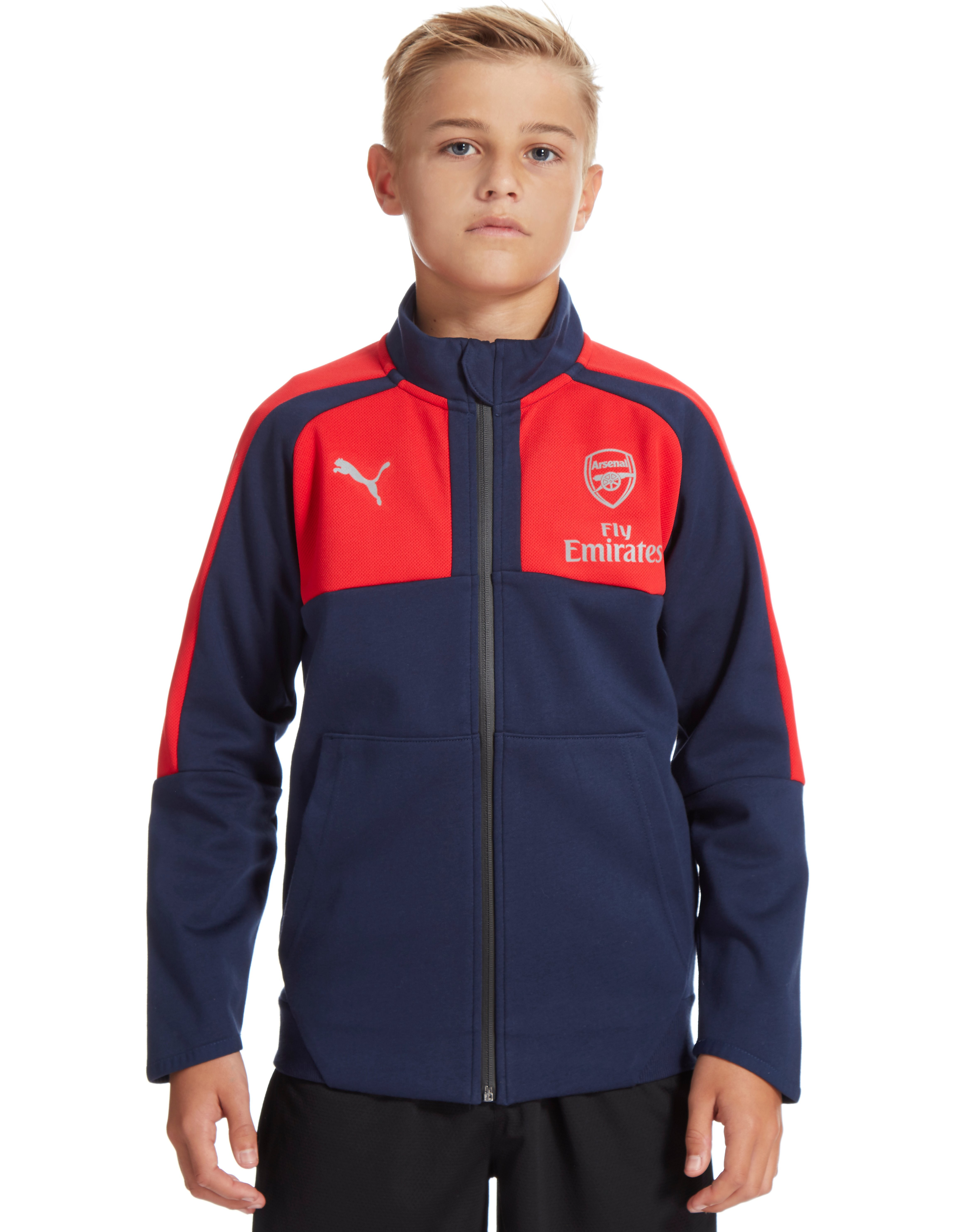 PUMA Arsenal FC Casual Performance Track Jacket Junior