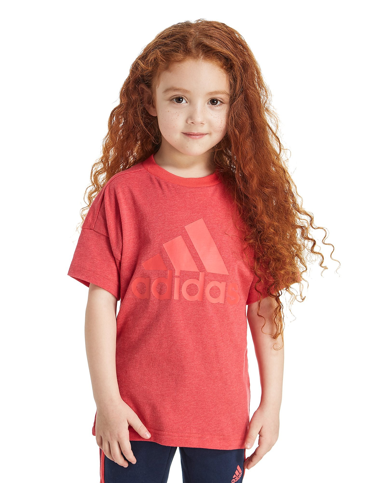 adidas Girls' Logo T-Shirt Children