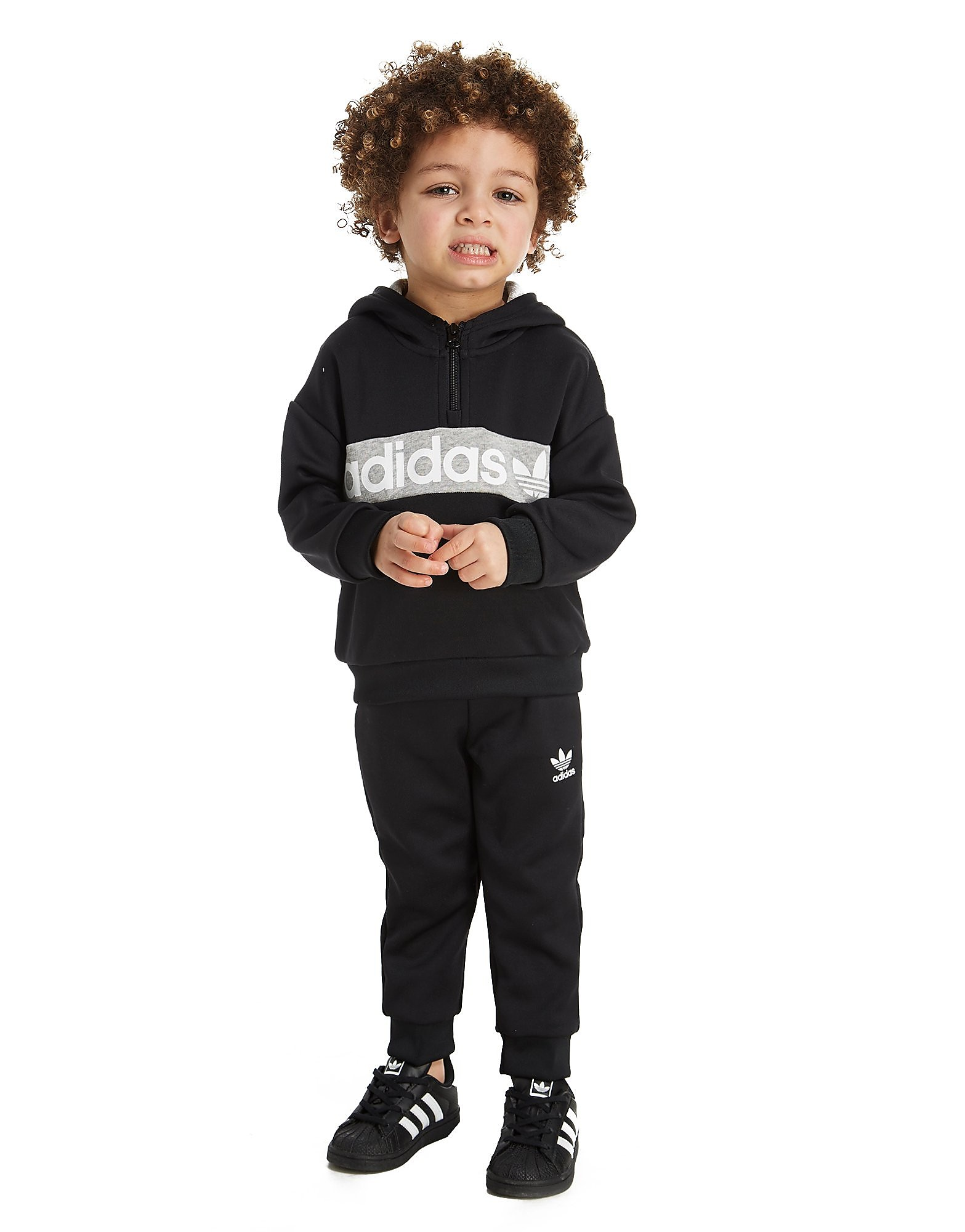 adidas Originals Trefoil 1/2 Zip Suit Infant