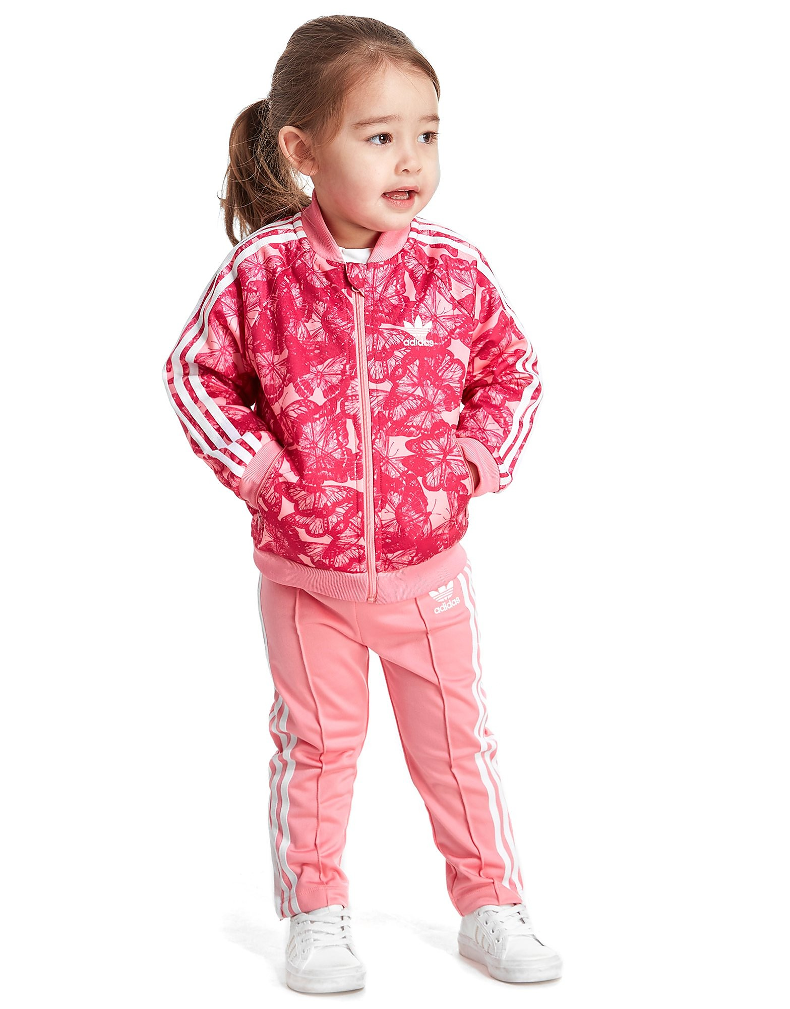 adidas Originals Girls' Berlin Superstar Suit Infant