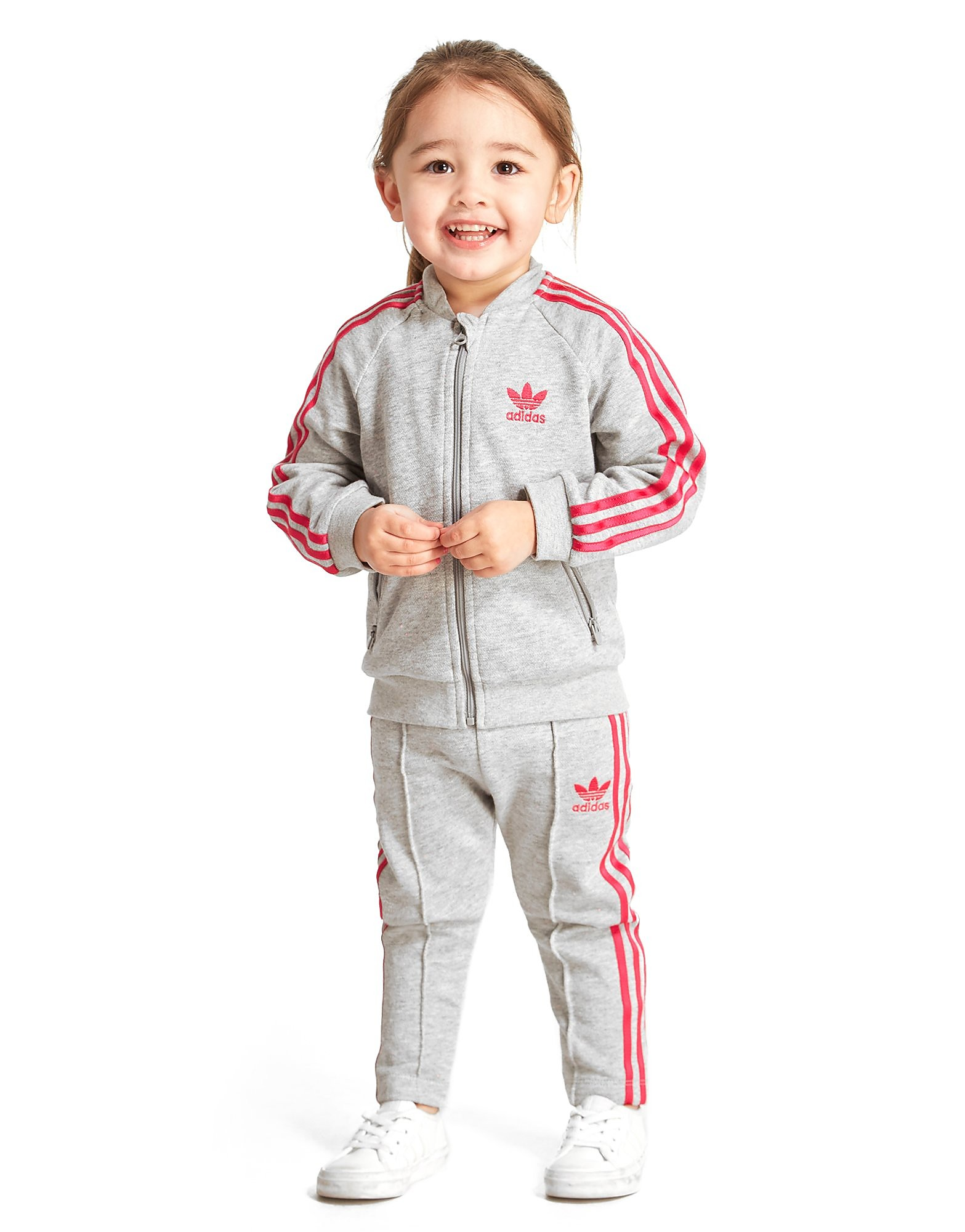 adidas Originals Girls' Fleece Superstar Suit