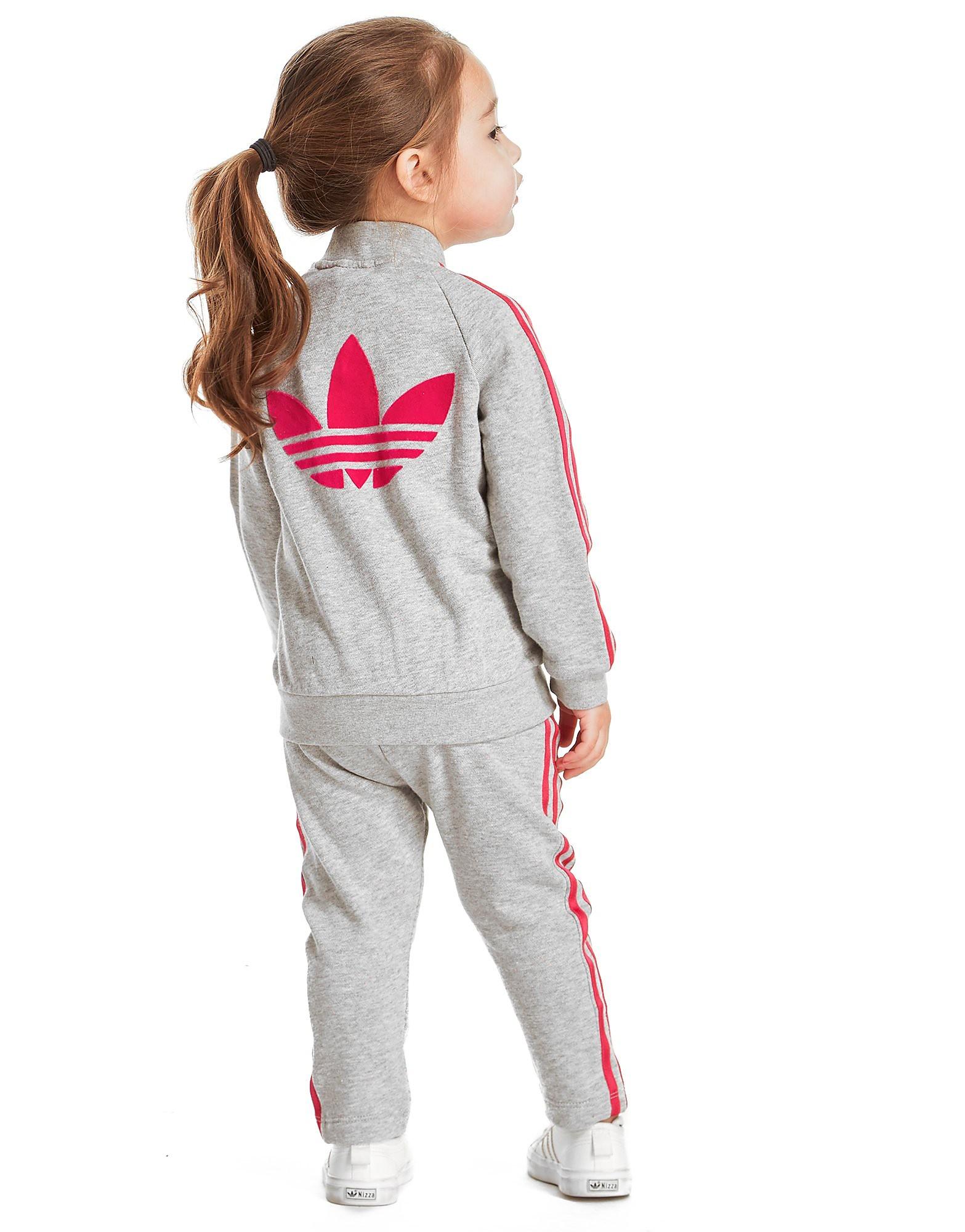 adidas Originals Girls' Fleece Superstar Suit