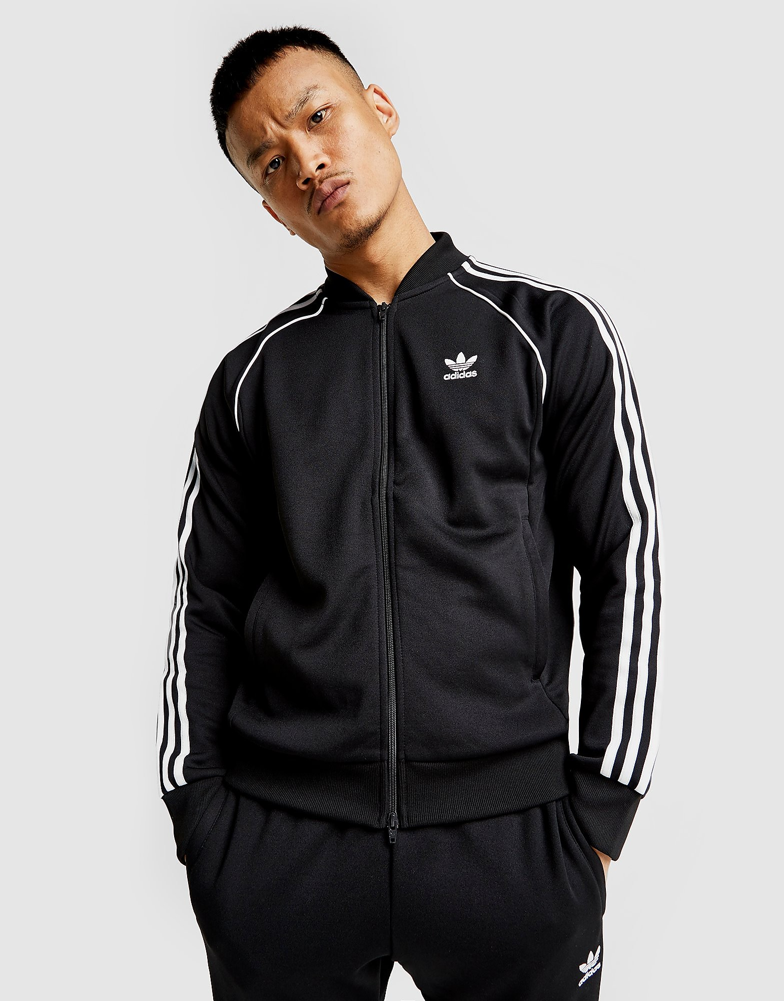 adidas Originals Haut de survêtement Superstar Track Homme