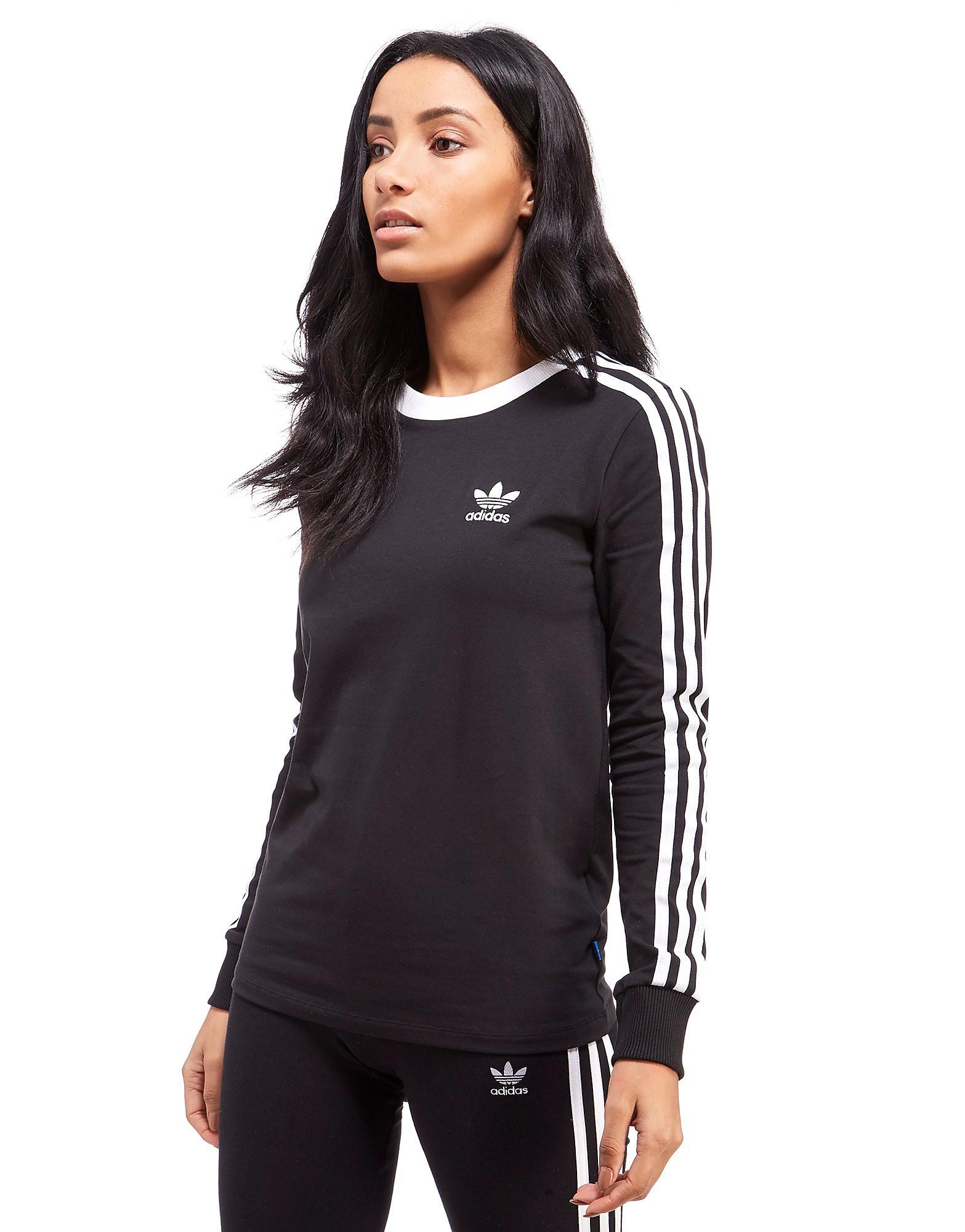 8a77c1200ea adidas Originals California T-Shirt met lange mouwen - Black - Dames    Sneakerplaats, het sneakerplatform van Nederland