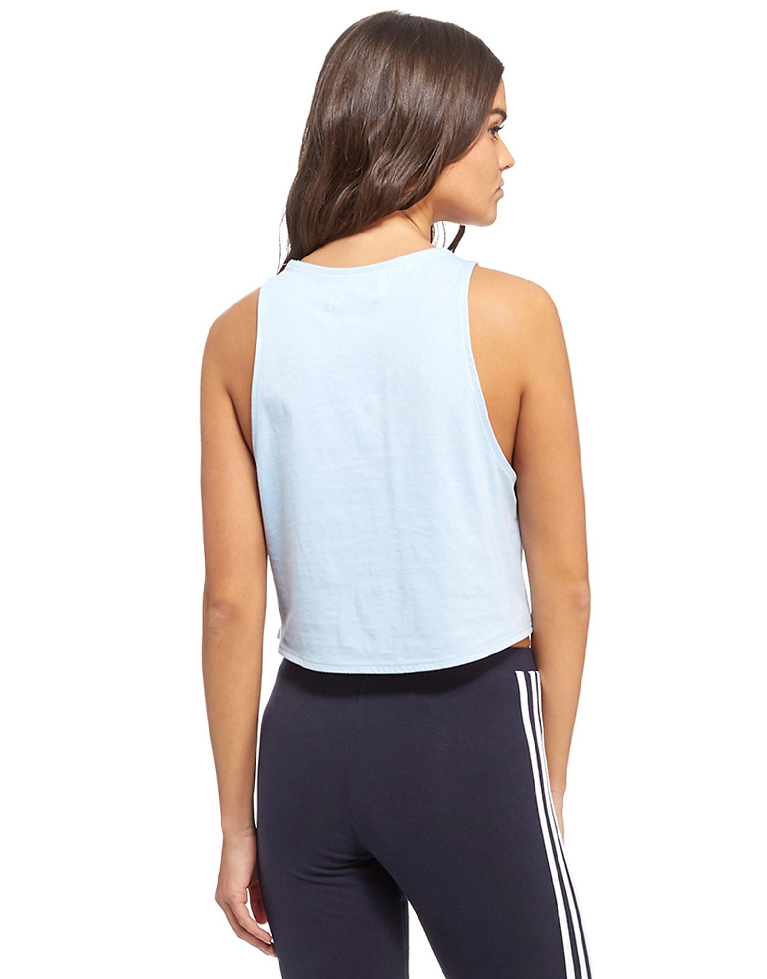 adidas Originals Trefoil Crop Sleeveless Vest