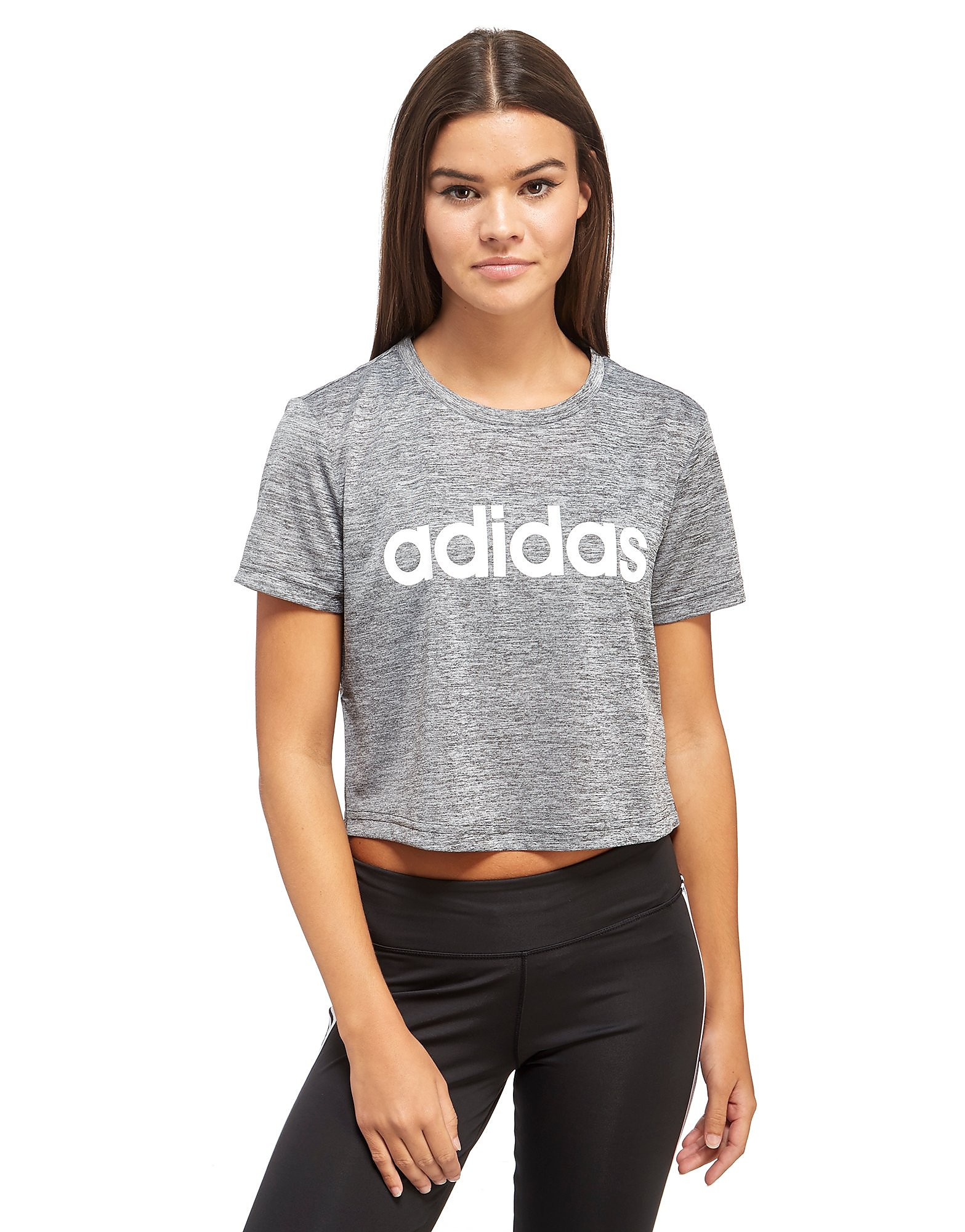 adidas Linear Crop T-Shirt