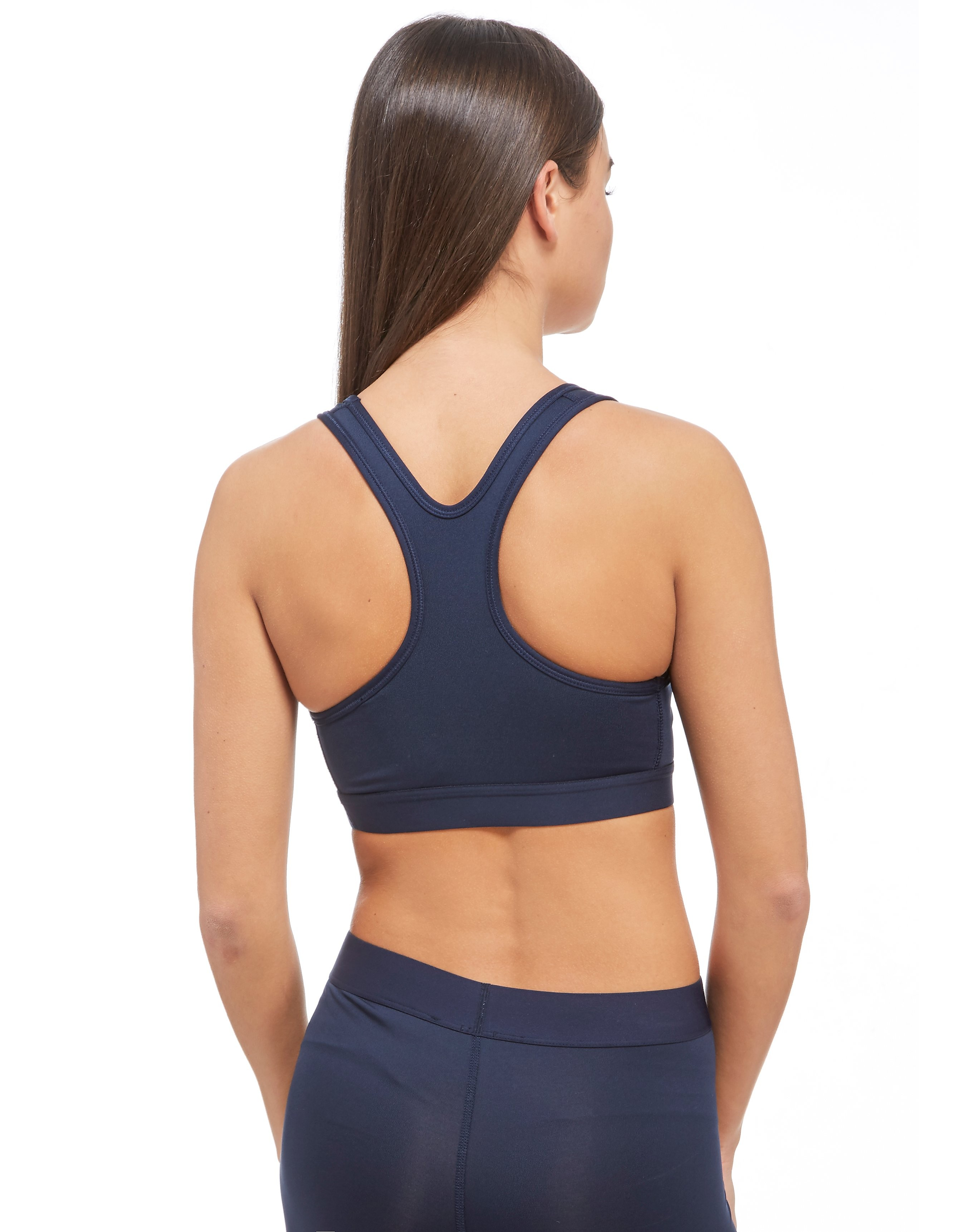 Nike Metallic Swoosh Sports Bra