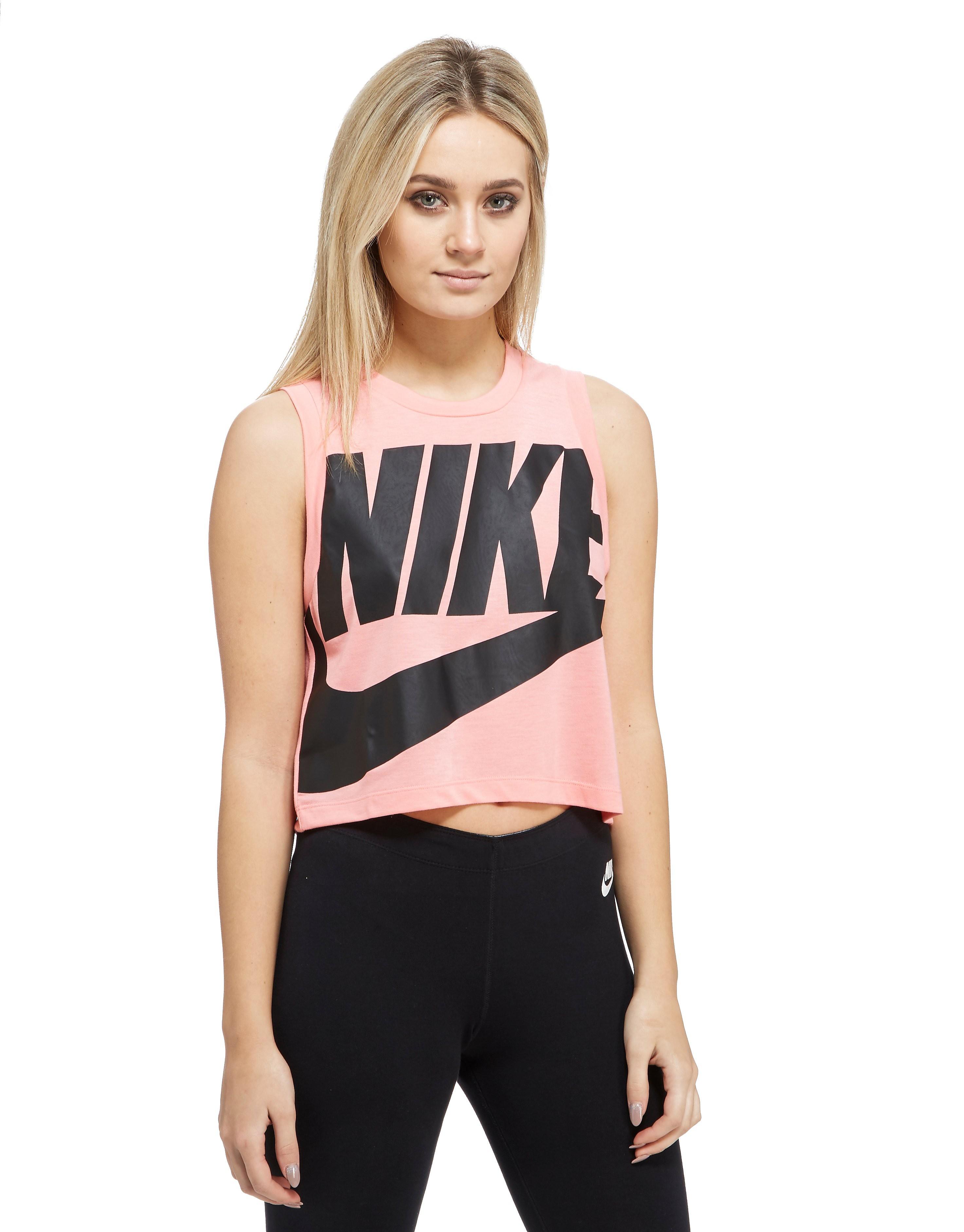 Nike Ärmelloses Crop-Tanktop