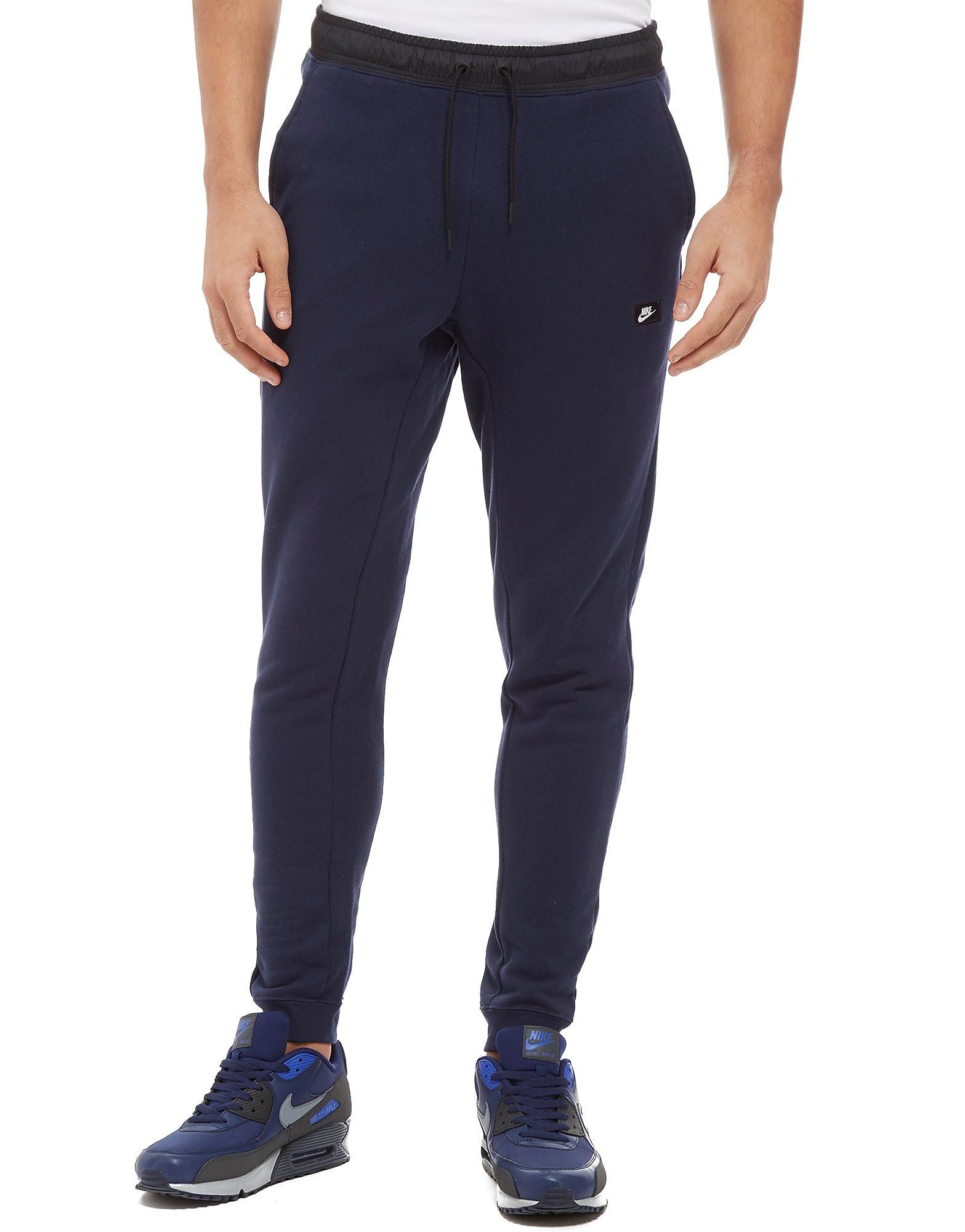 Nike Modern Essential Fleece Pants - bleu/noir, bleu/noir