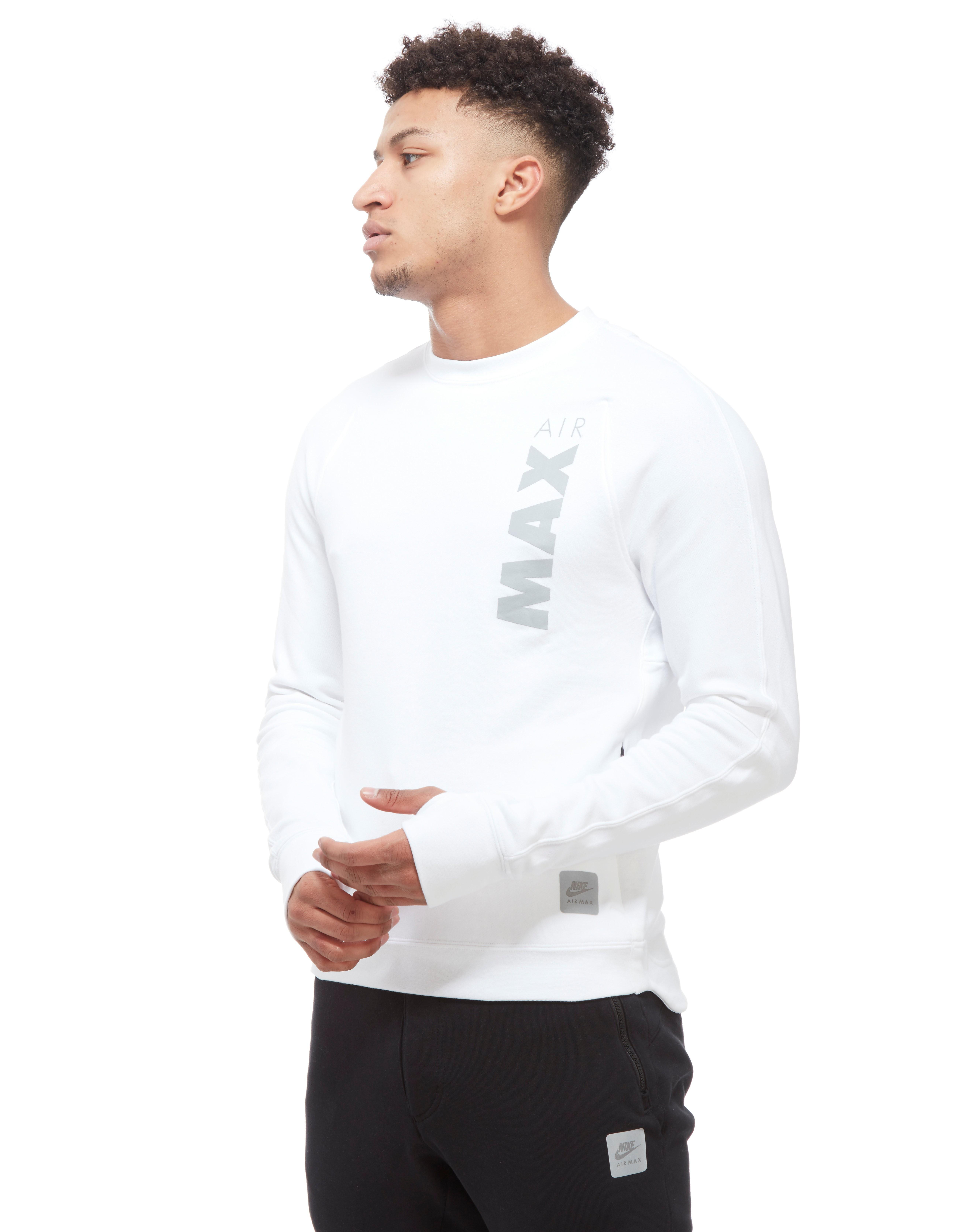 Nike Air Max sweatshirt med rund hals