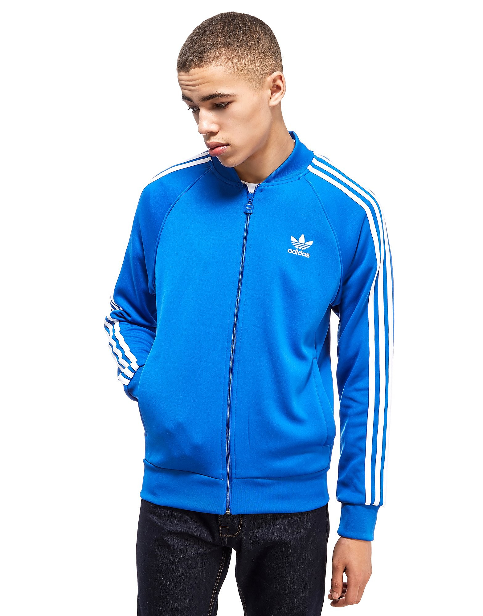 adidas Originals Haut de survêtement Superstar Poly Track Homme