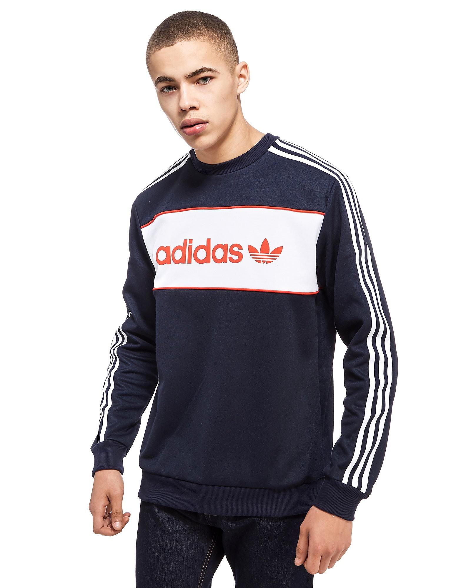 adidas Originals Sweatshirt Block Crew Homme