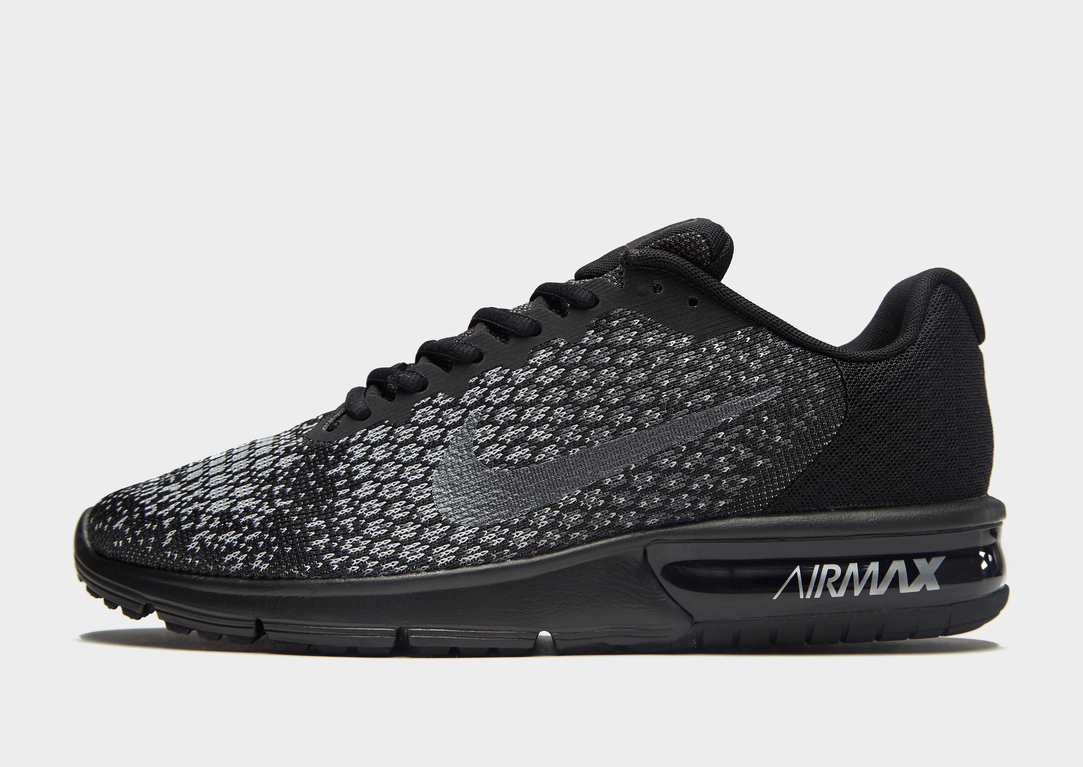 Nike Air Max Sequent 2 Heren - Zwart - Heren