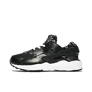 Nike Huarache Black And Red And White