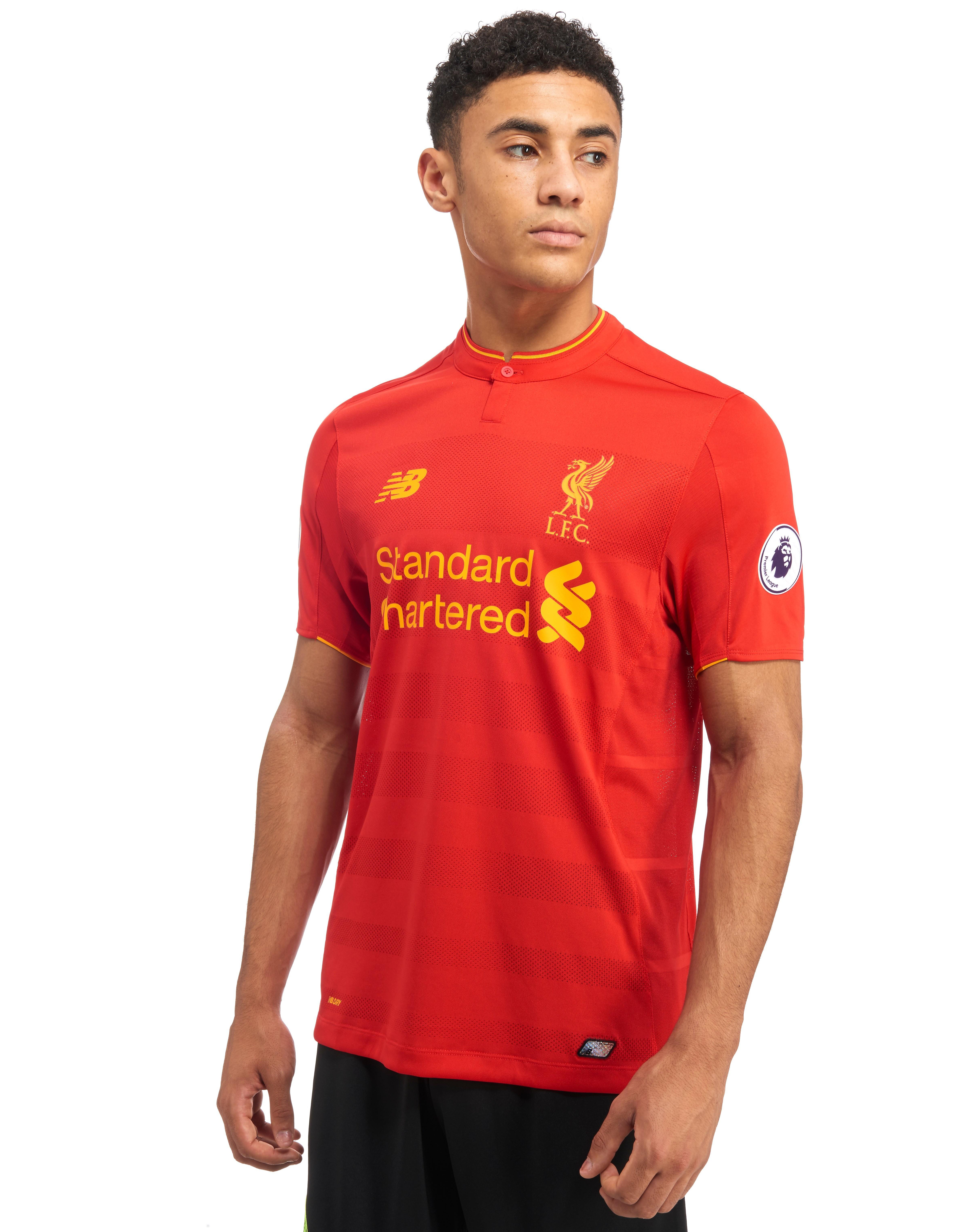 New Balance Liverpool FC 2016/17 Home Prem Badge Shirt
