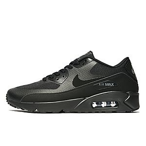 nike air max 90 black with white sole