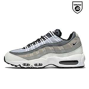 Nike Air Max 95 (Black & Anthracite) End