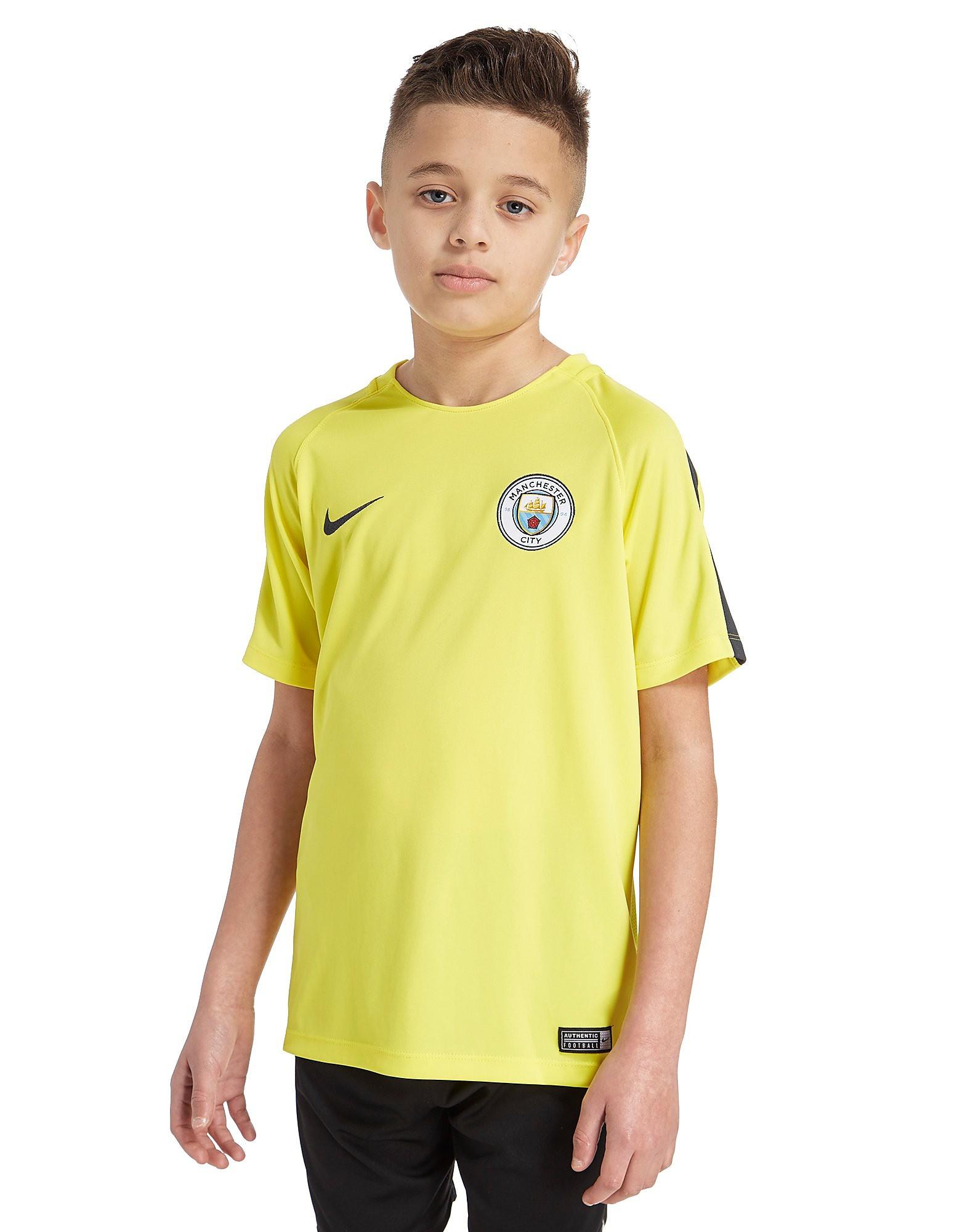 Nike Manchester City Training T-Shirt Junior