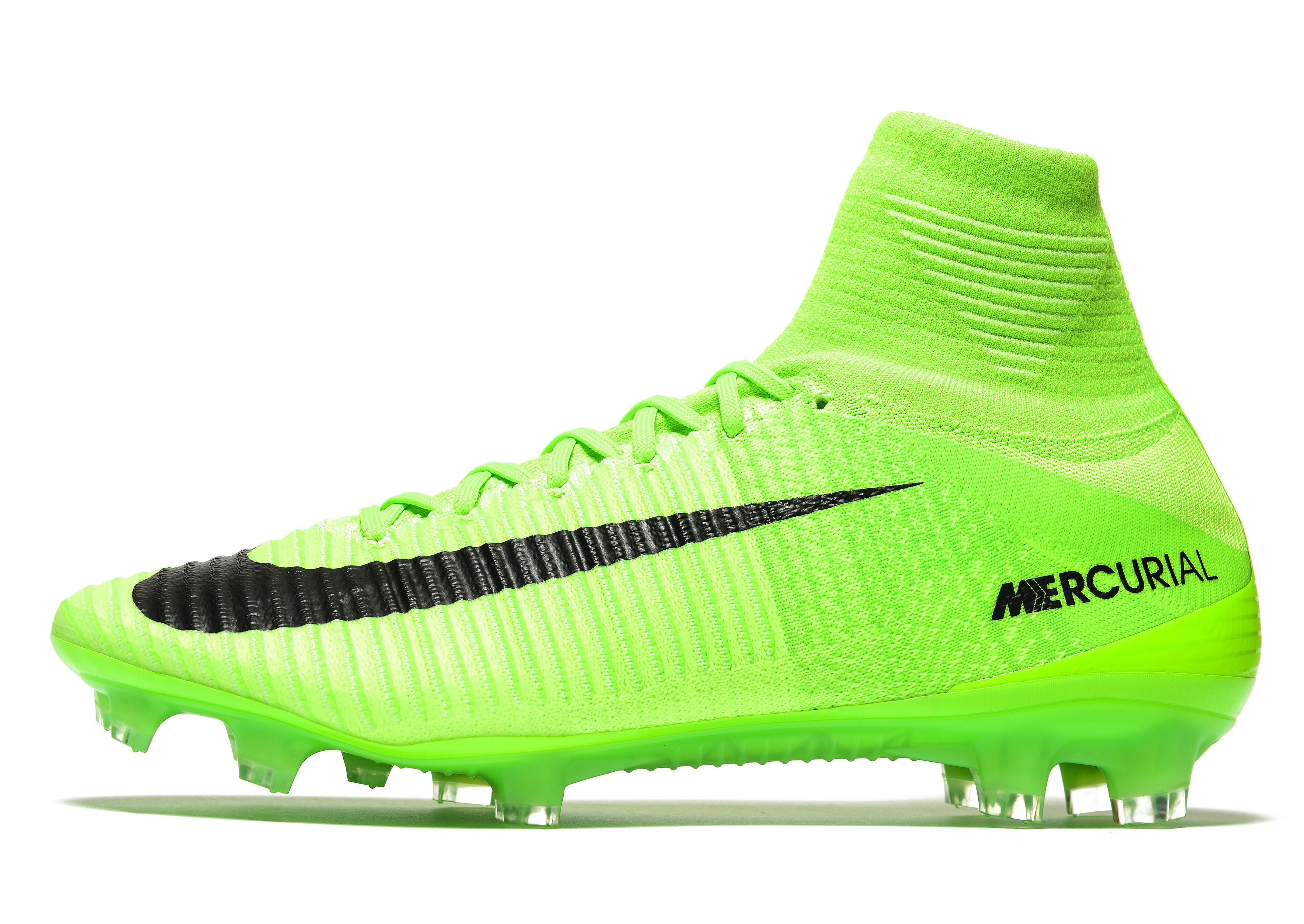 Nike Radiation Flare Mercurial Superfly V FG
