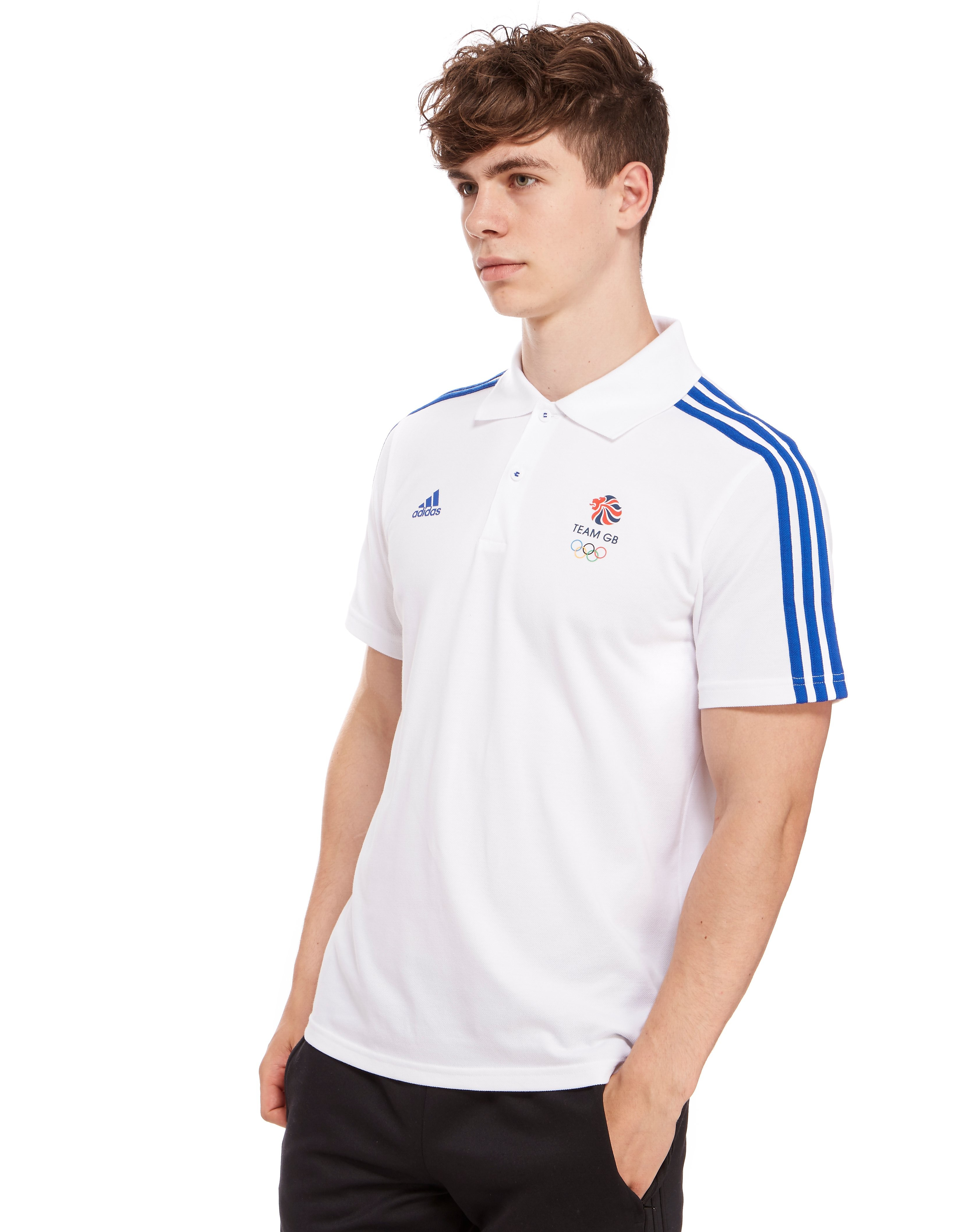 adidas Team GB Basic Logo Polo Shirt