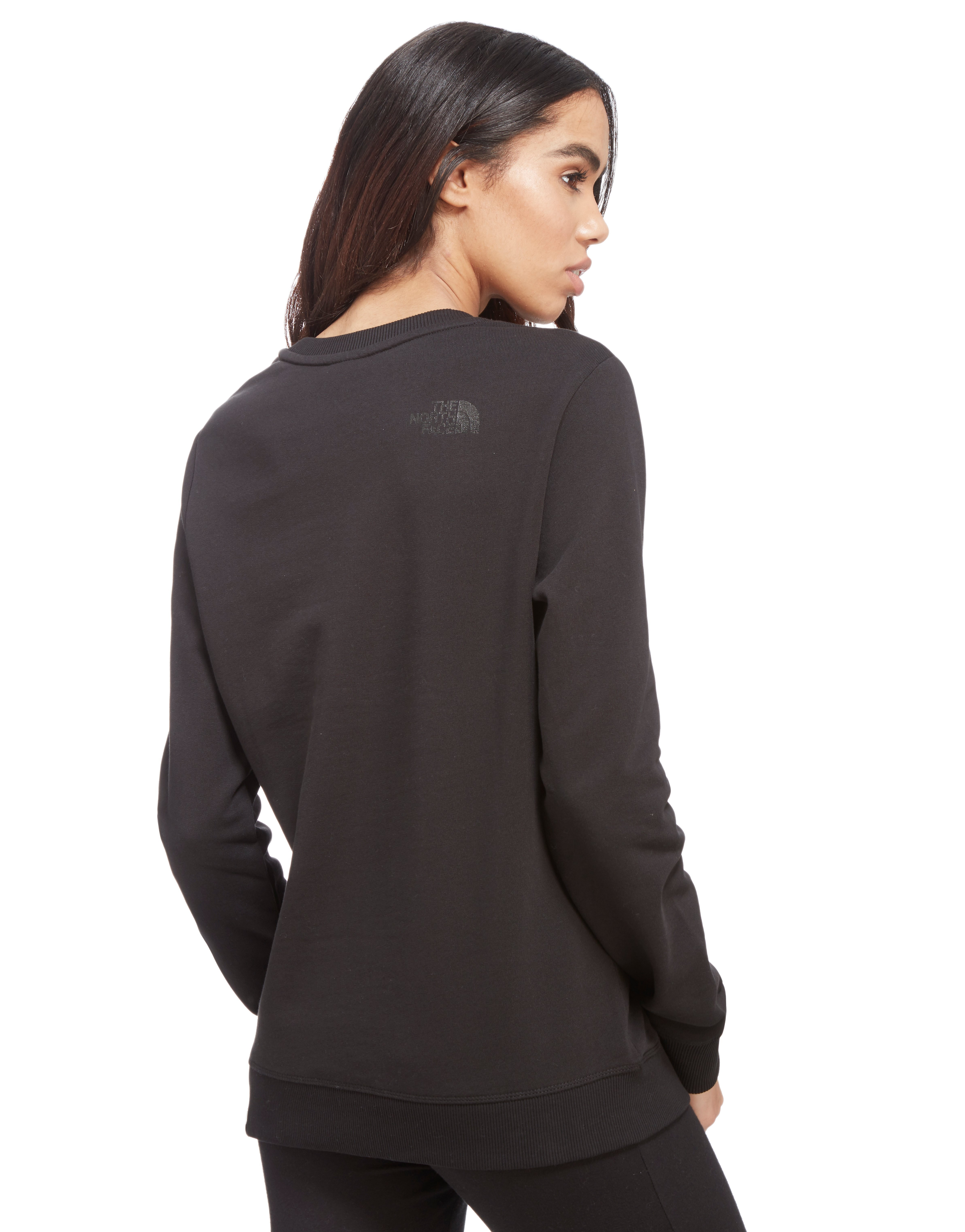 The North Face Box Logo Sweatshirt med rRund hals