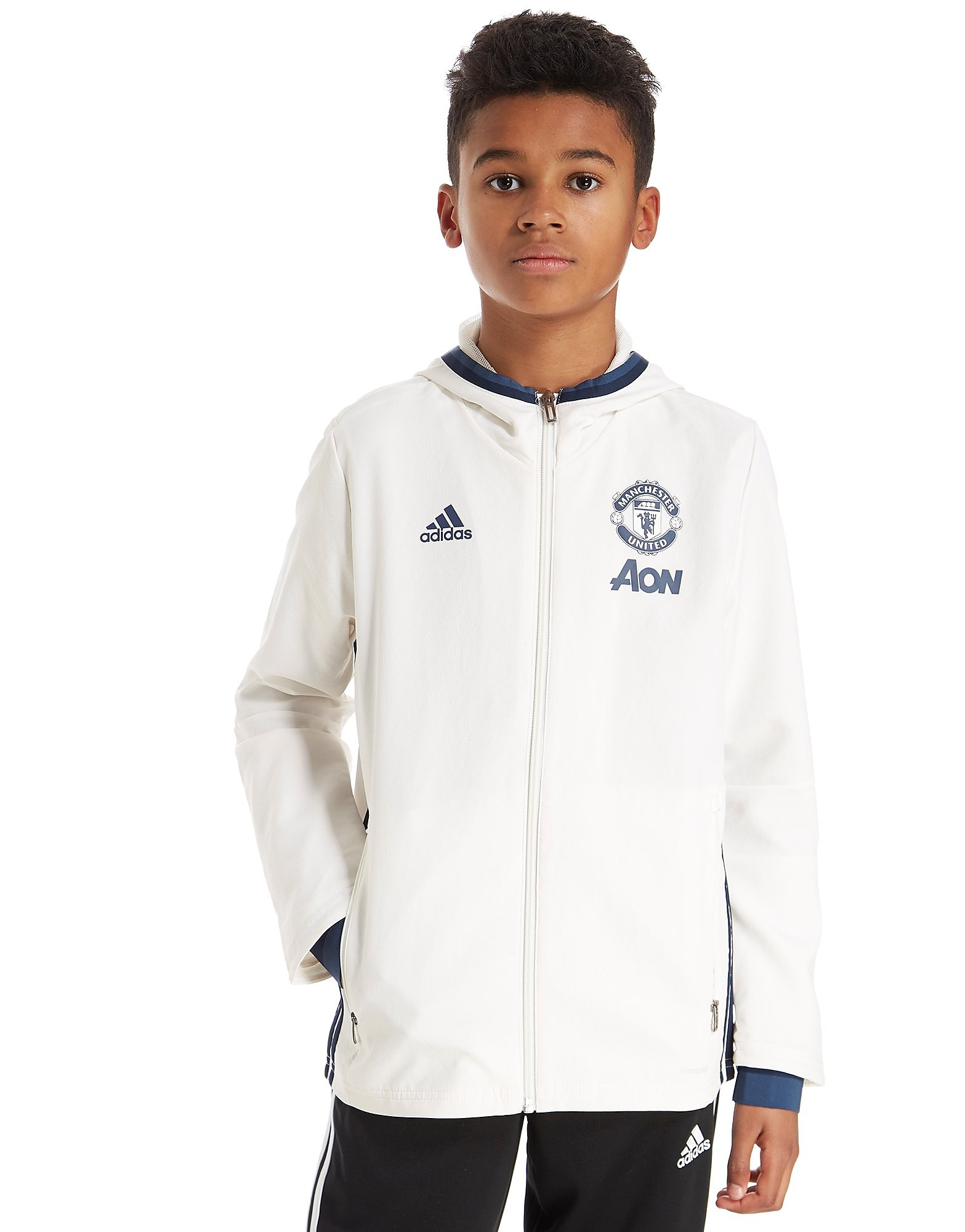 adidas Manchester United Presentation Jacket Junior