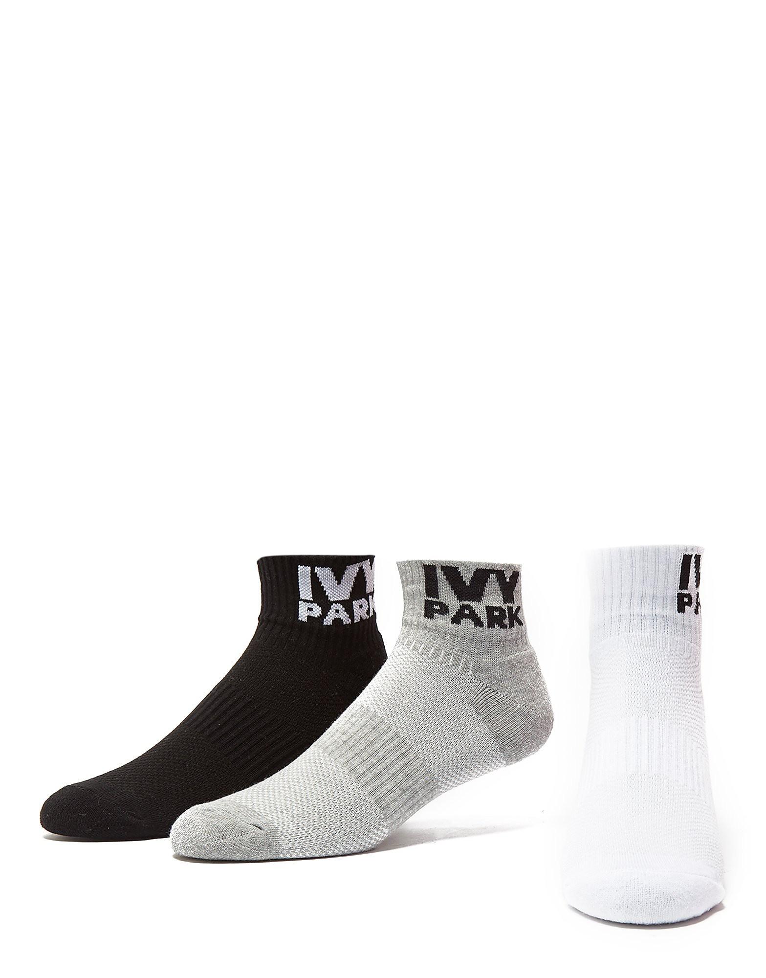 IVY PARK 3 Pack Ankle Socks