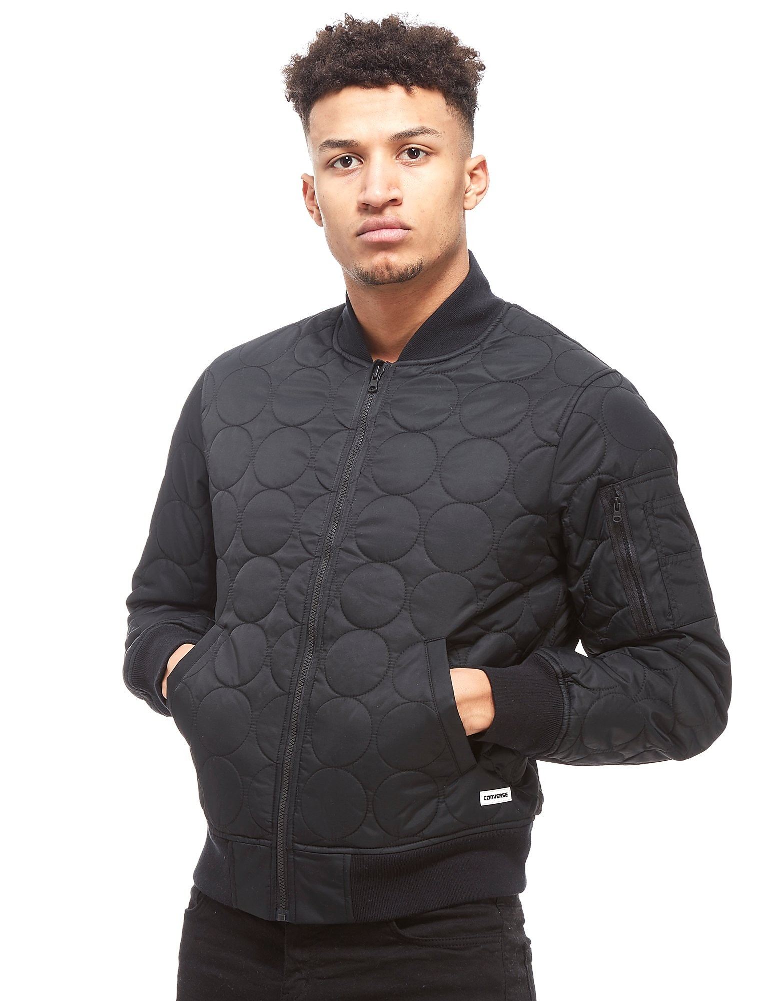 Converse Quilted Bomber Jacket