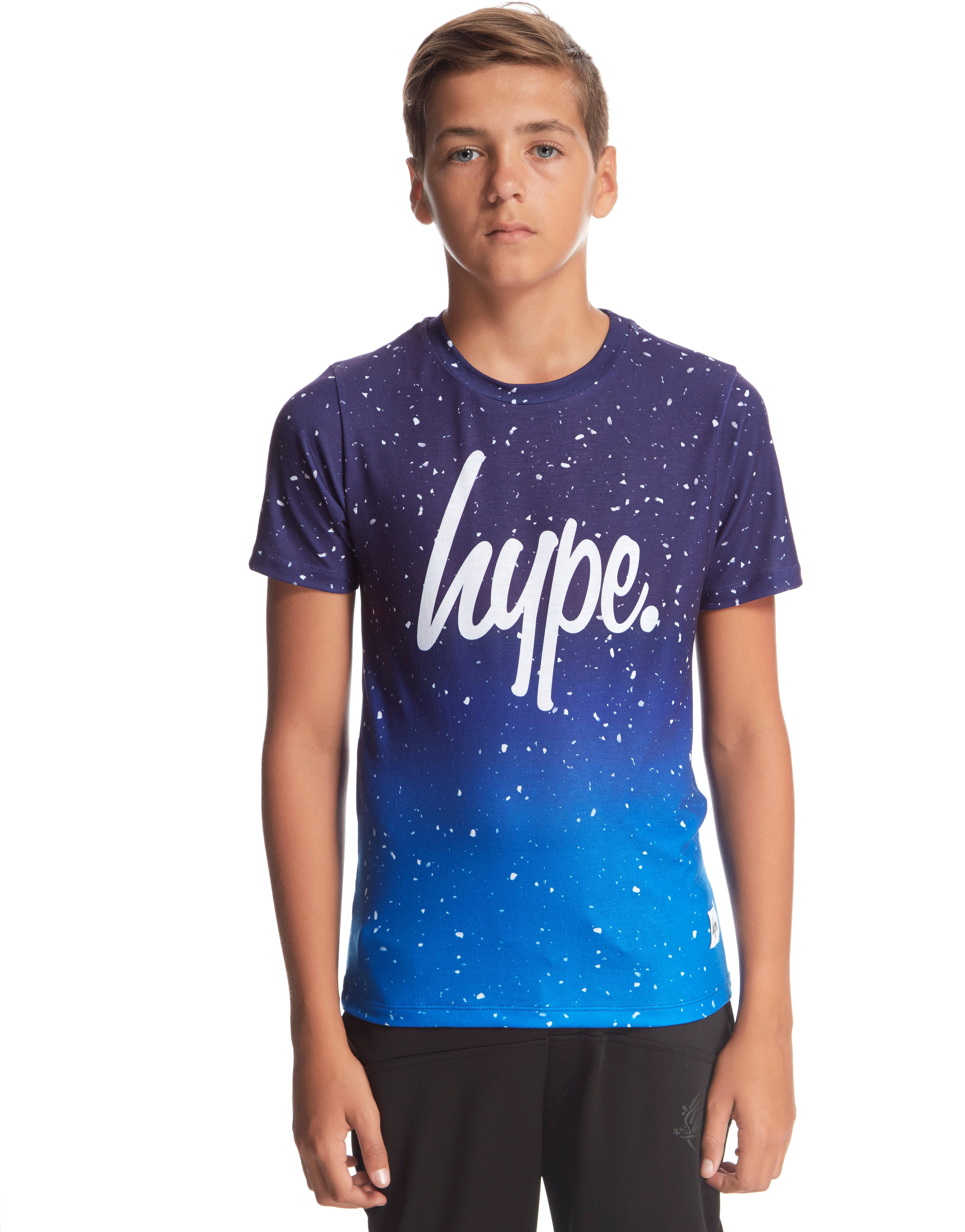 Hype Blue Fade T-Shirt Junior