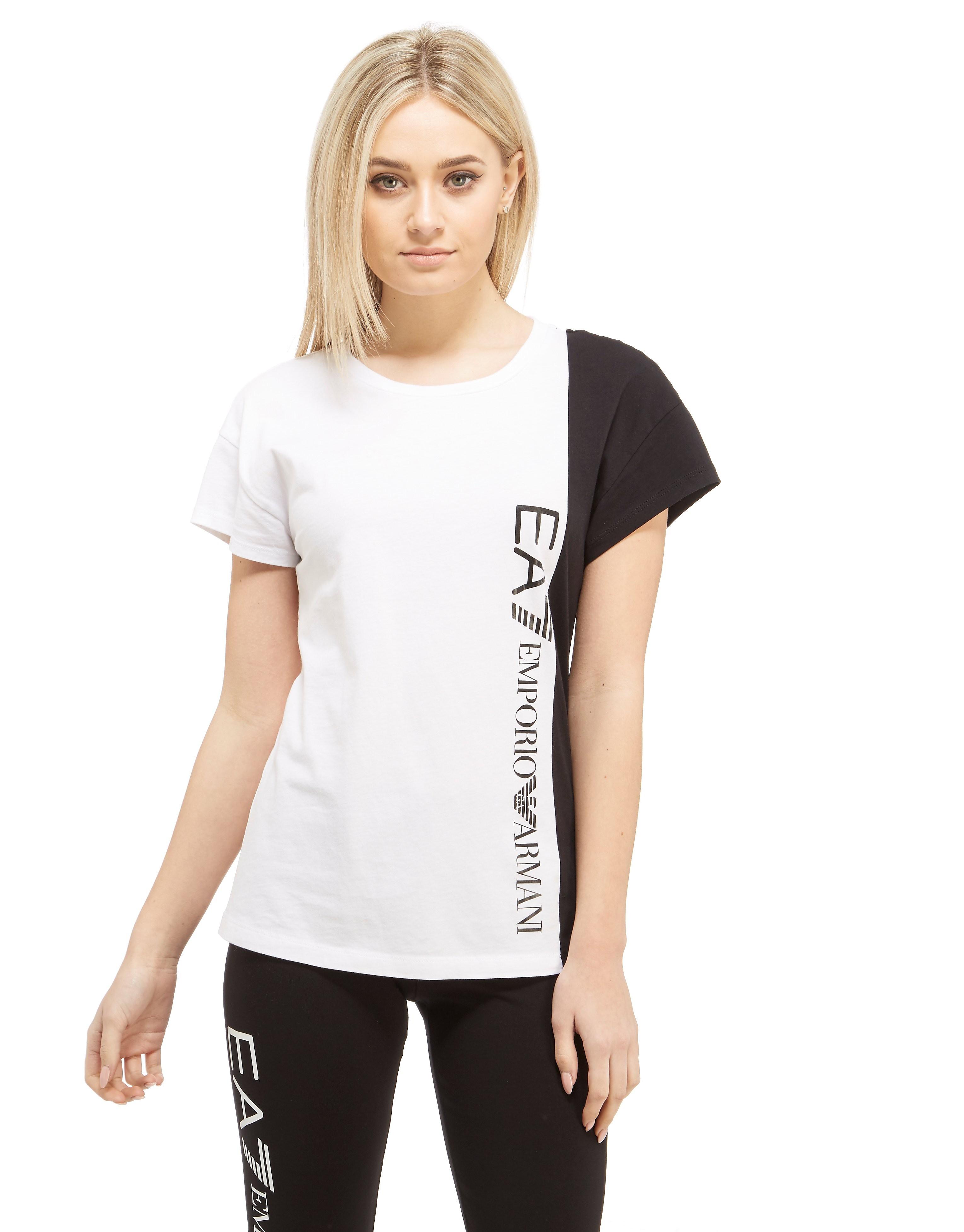 Emporio Armani EA7 T-Shirt med Panel
