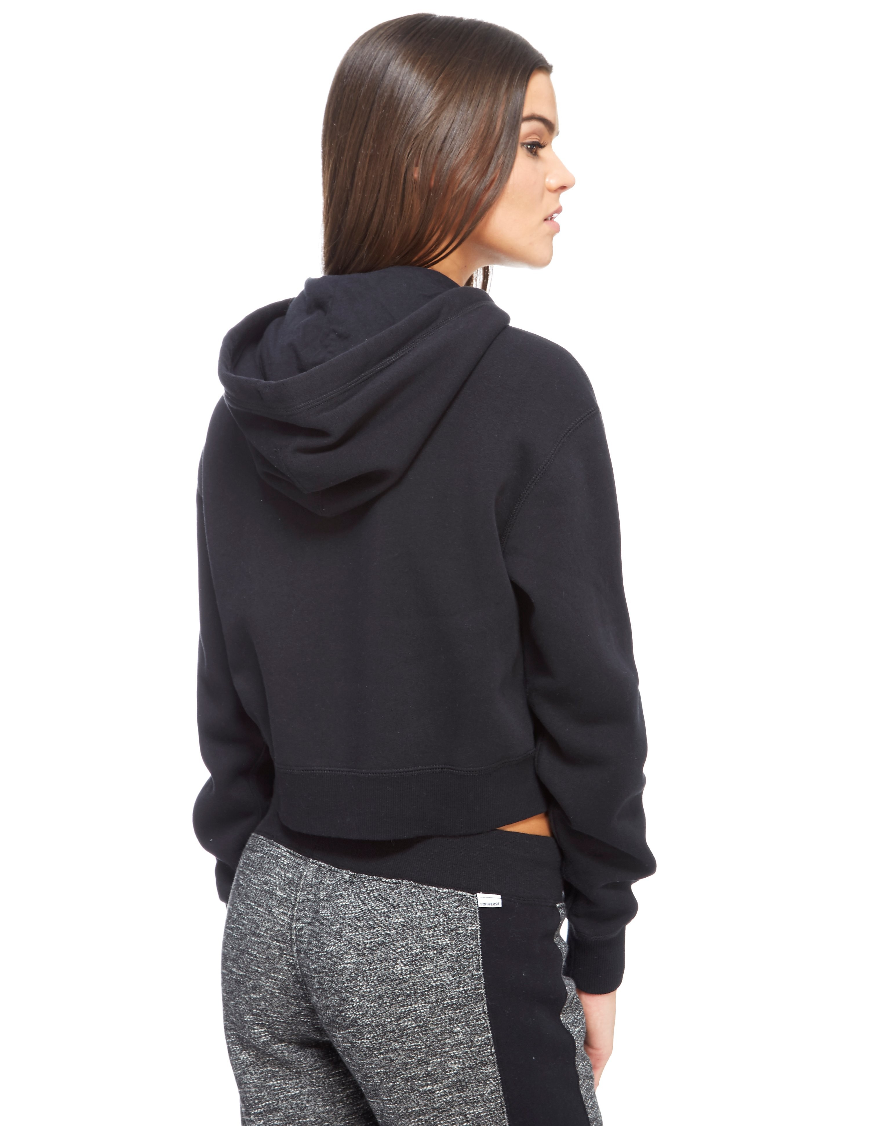 Converse Crop Zipped Hoody