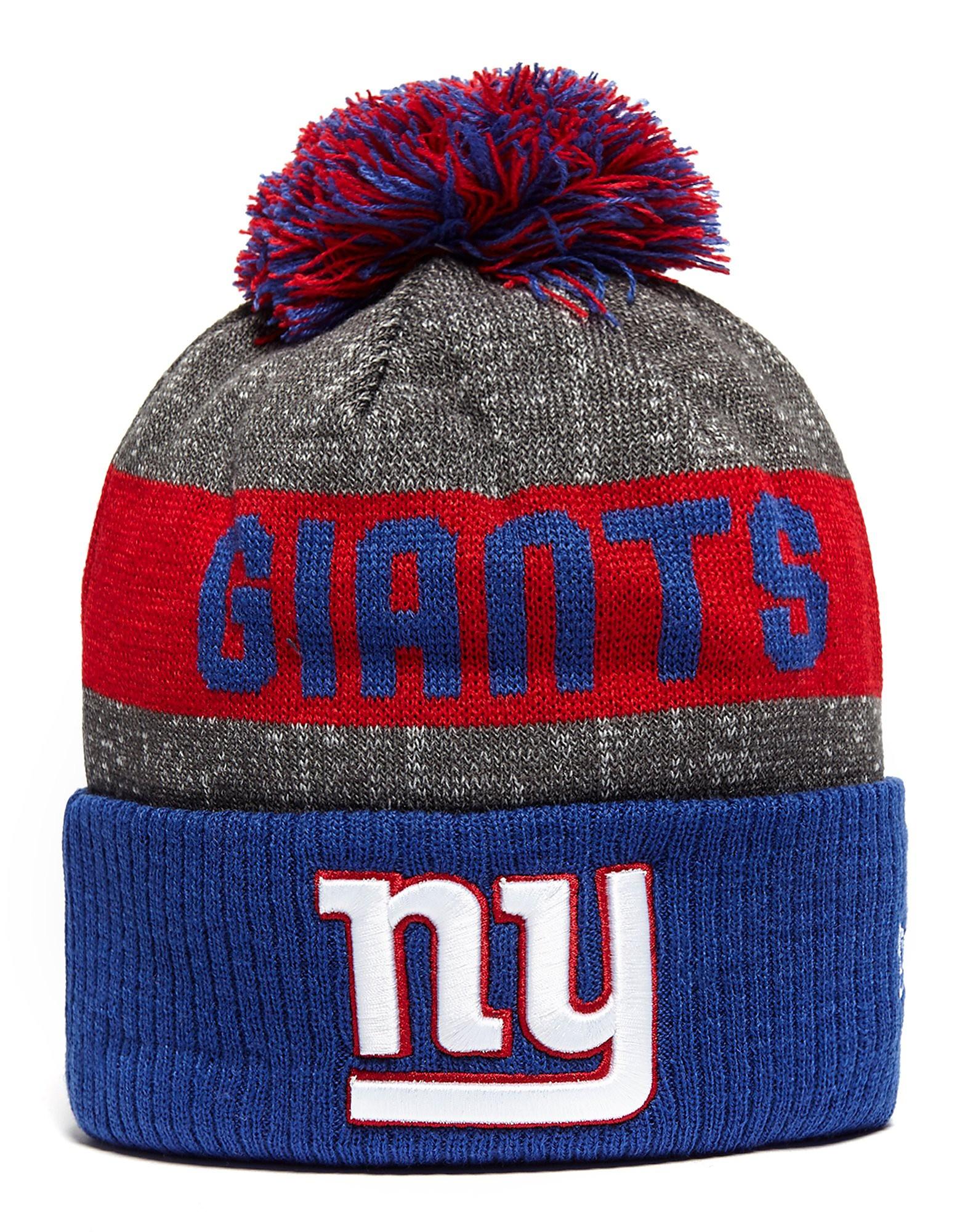 New Era NFL New York Giants Pom Beanie