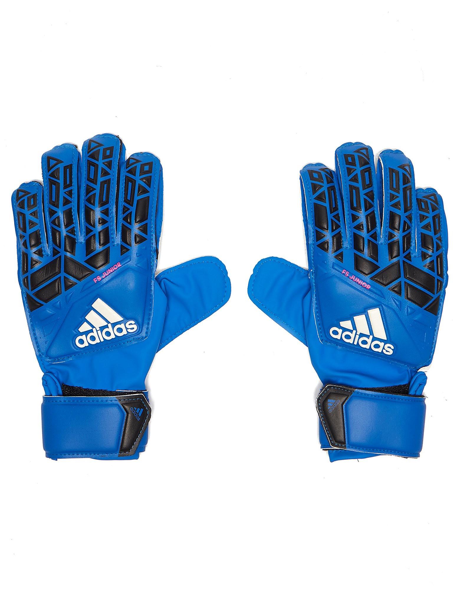 Leather gloves mens jd - Adidas Ace Fingersave Goalkeeping Gloves Blue Kids Blue
