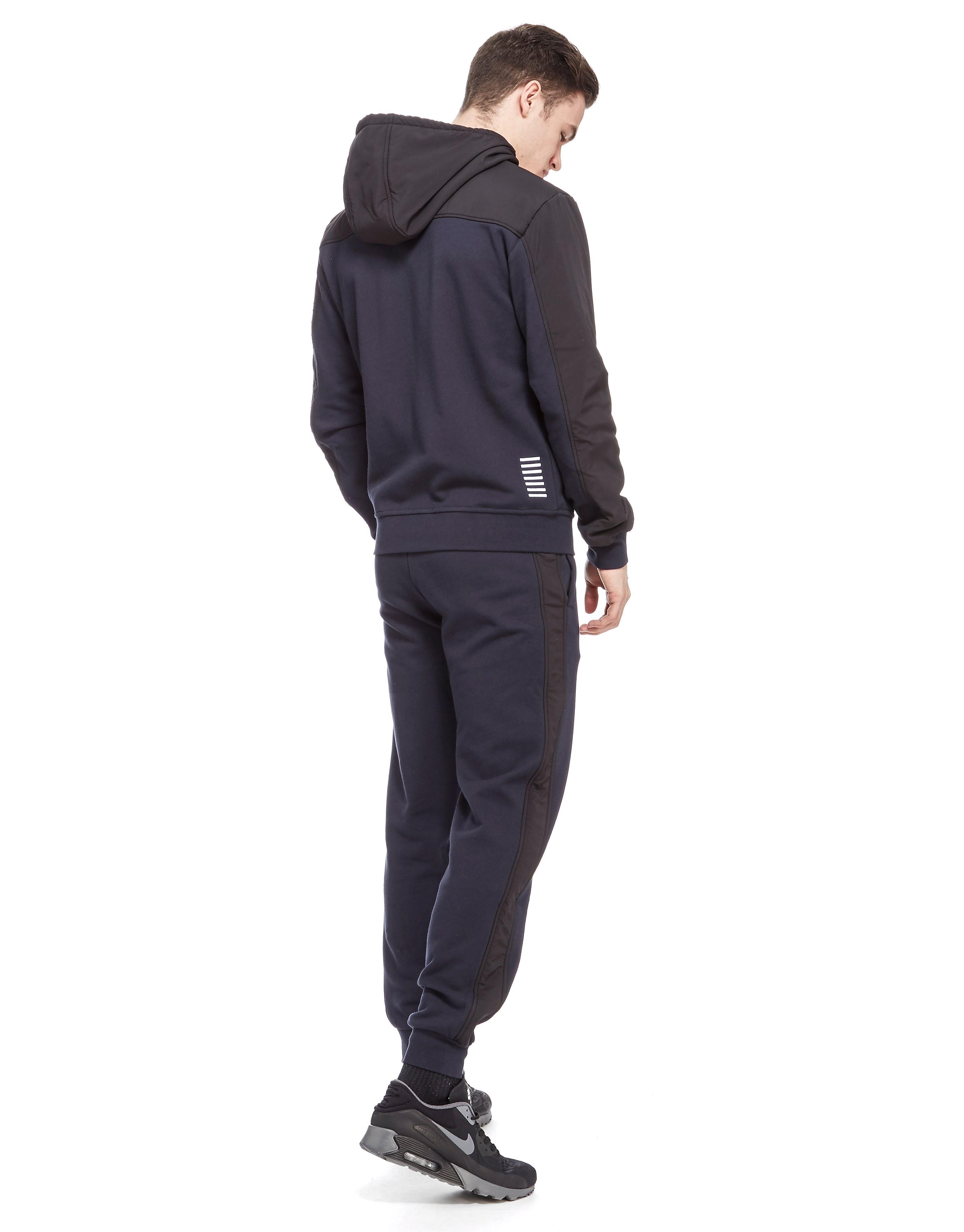 Emporio Armani EA7 Shadow Woven Hooded Fleece