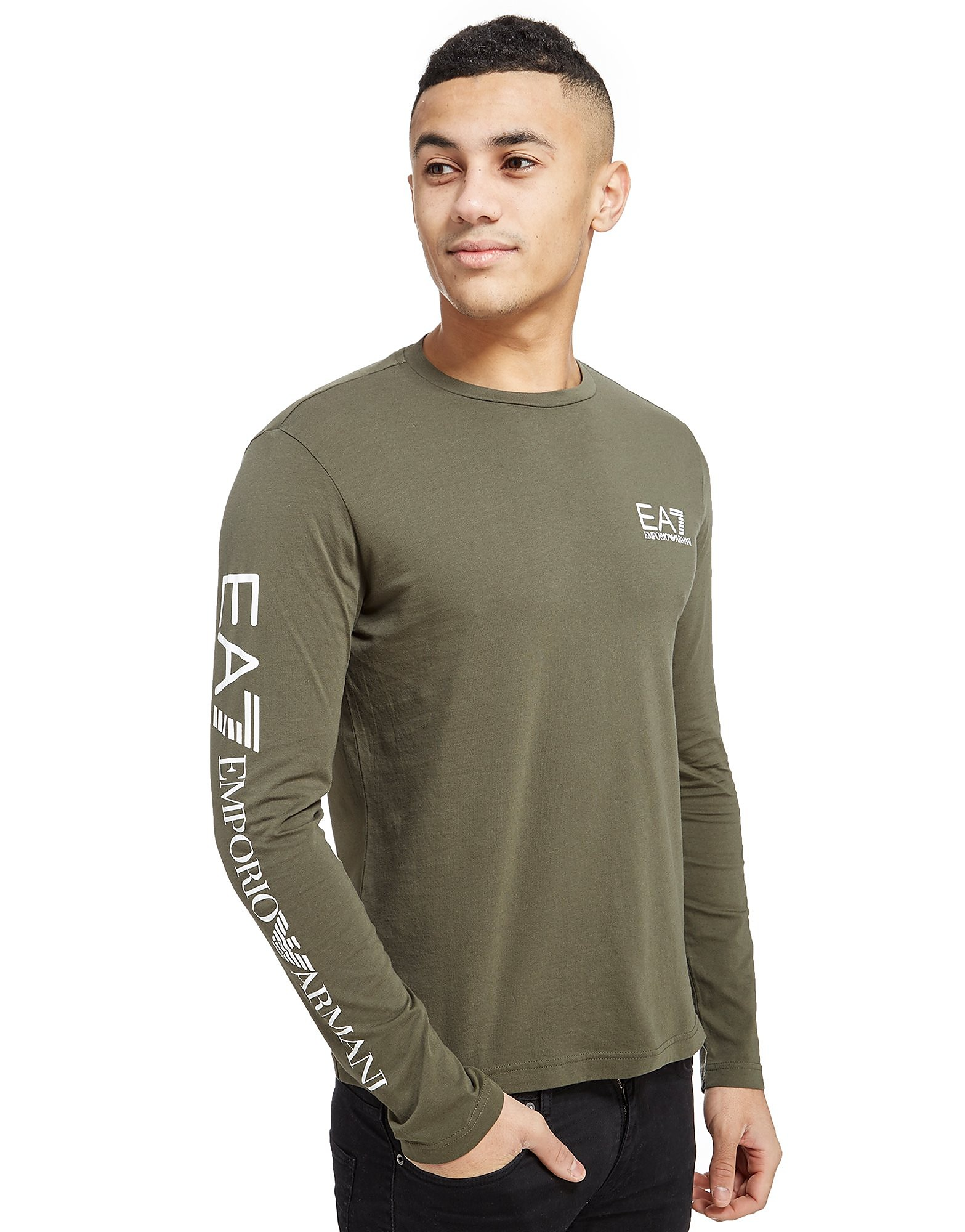 Emporio Armani EA7 Sleeve Logo Longsleeve T-Shirt