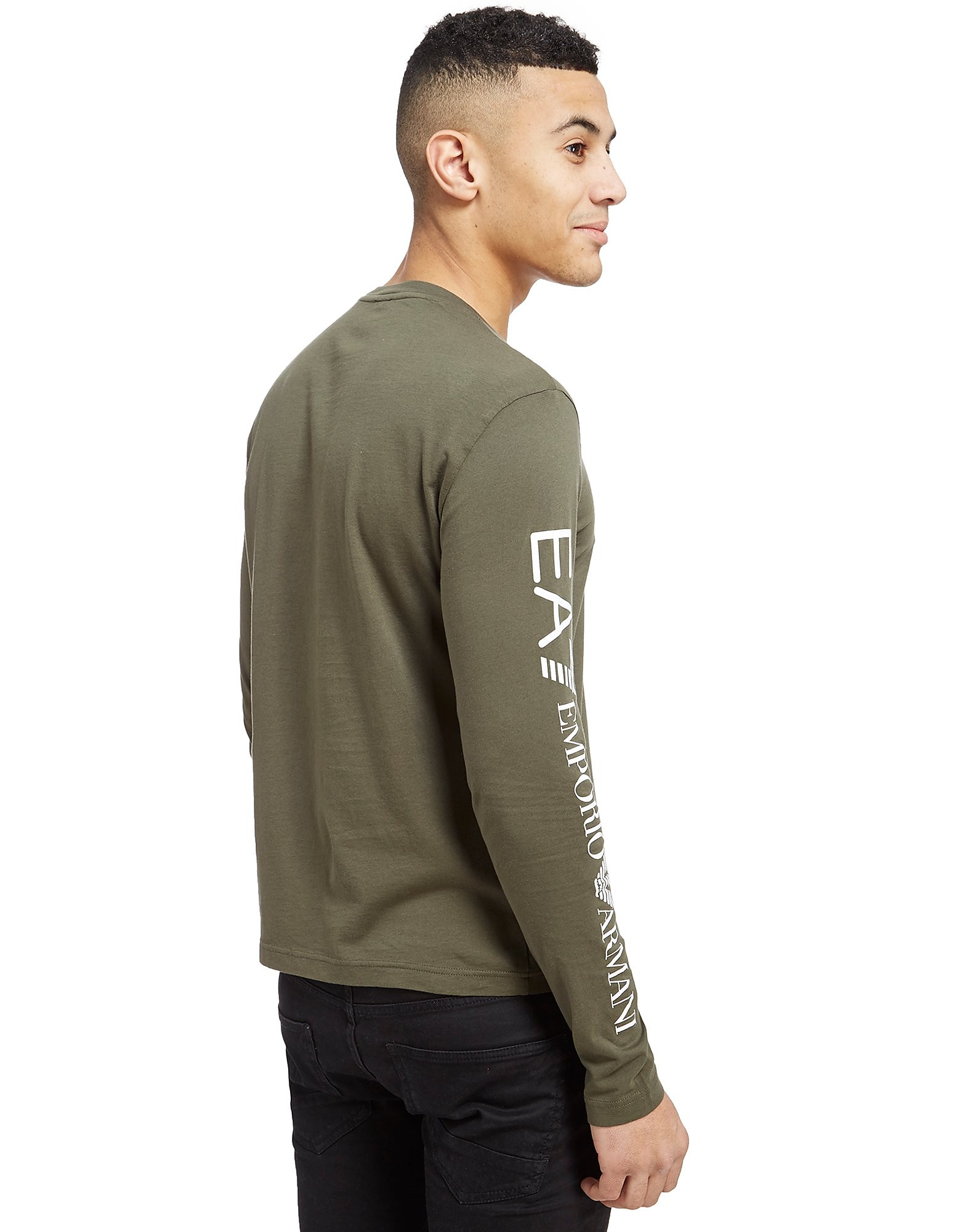 Emporio Armani EA7 T-shirt Sleeve Logo a maniche lunghe